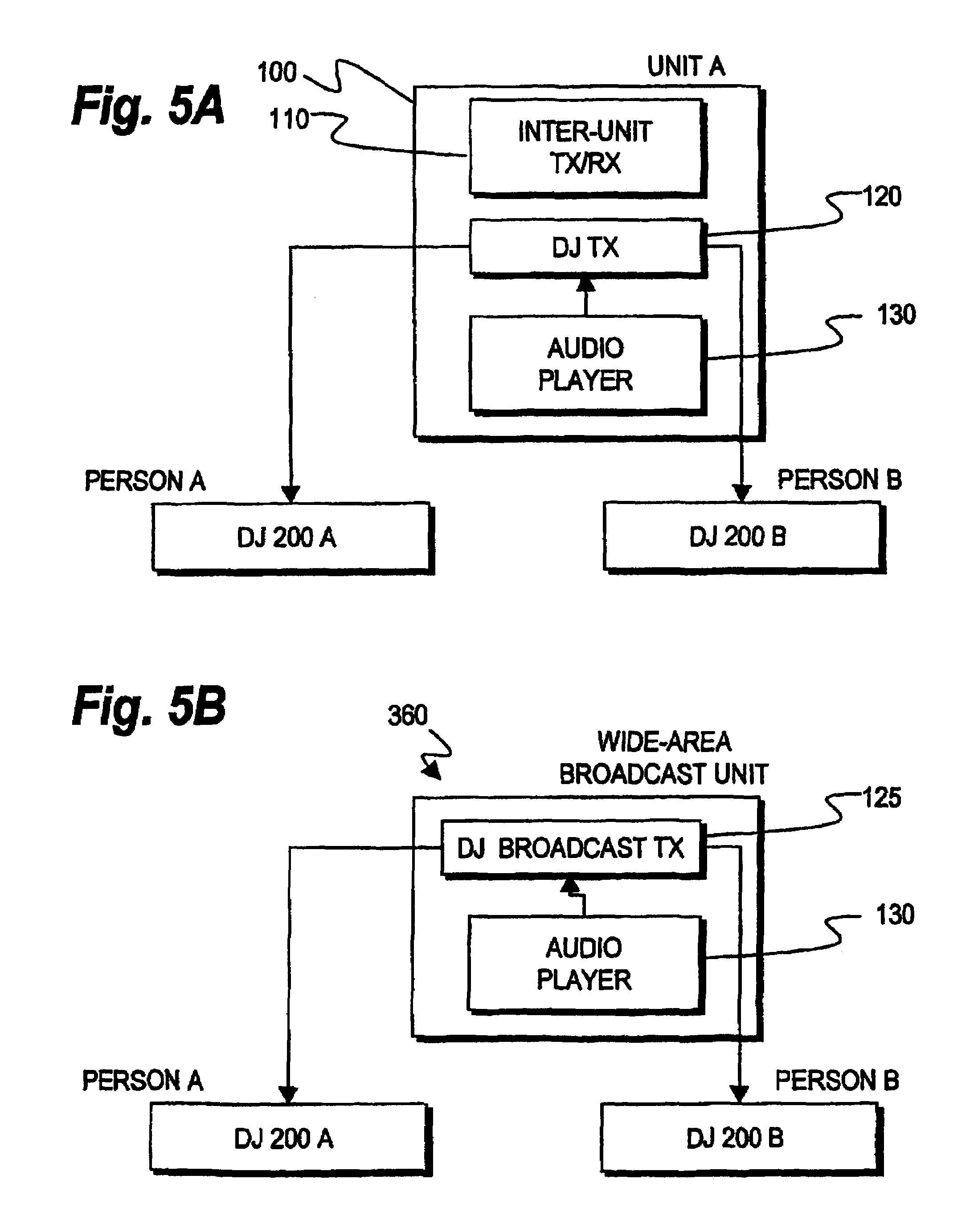 patent us7657224 localized audio networks and associated digital patent drawing