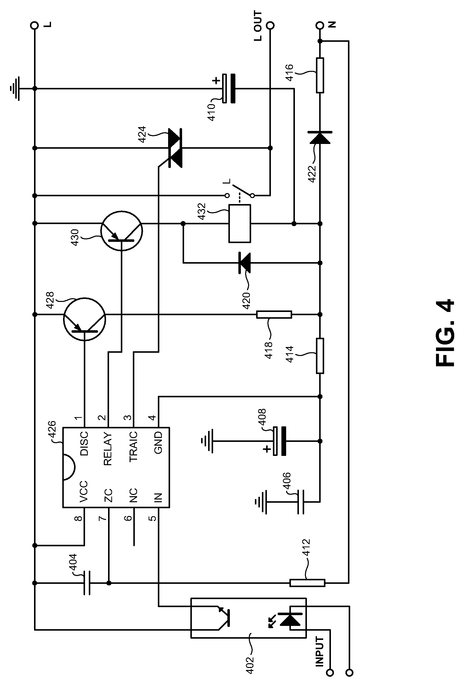 US07660083 20100209 D00003 patent us7660083 electromechanical and solid state ac relay with ac relay diagram at gsmportal.co