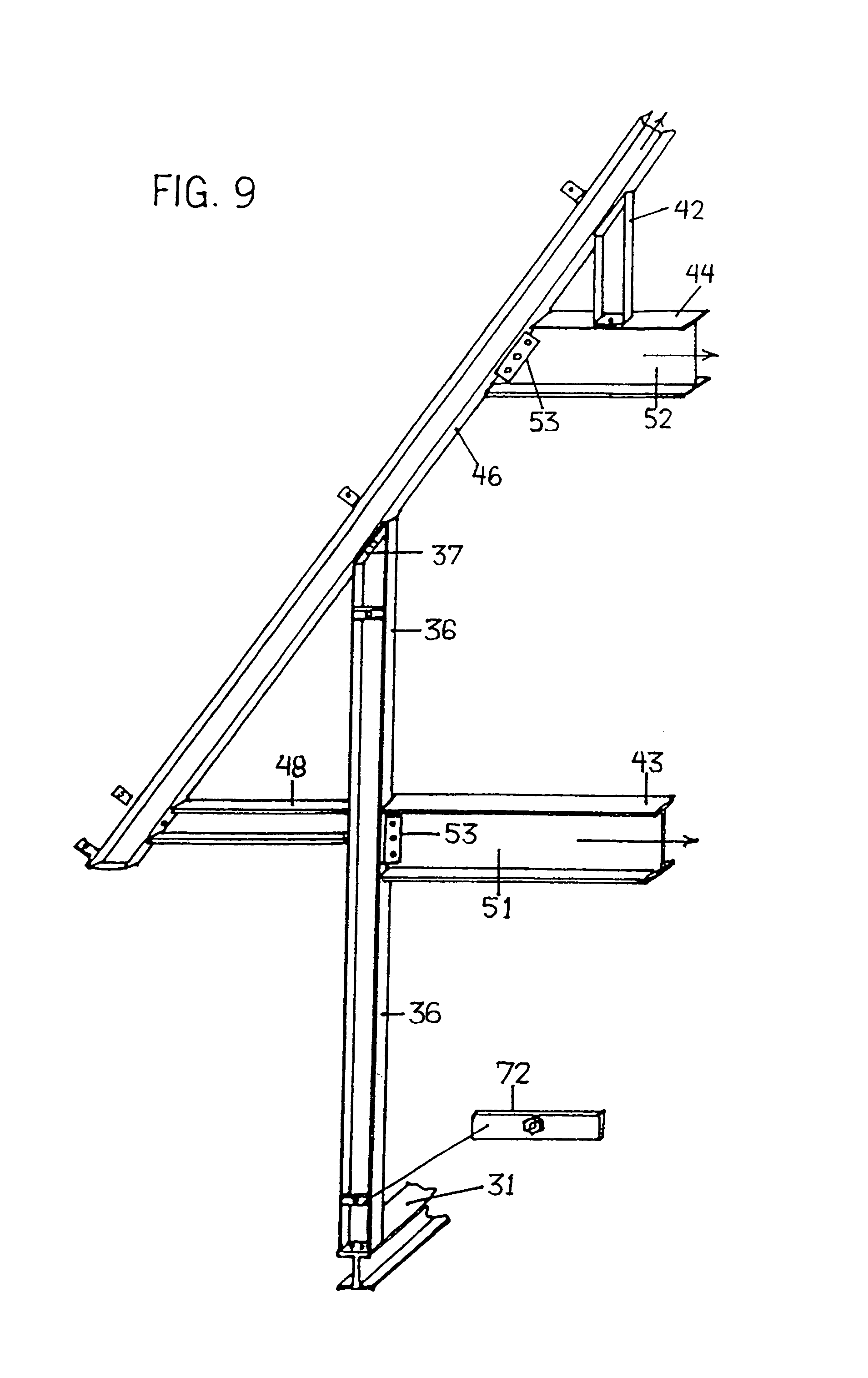 Steel Framed Houses Patent Us7665251 Structural Steel Framed Houses With Gable End