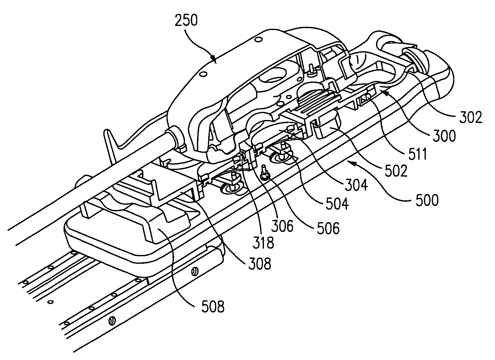 Patent Us7666191 Robotic Surgical System With Sterile 318 Engine Fuel Line Diagram Drawing