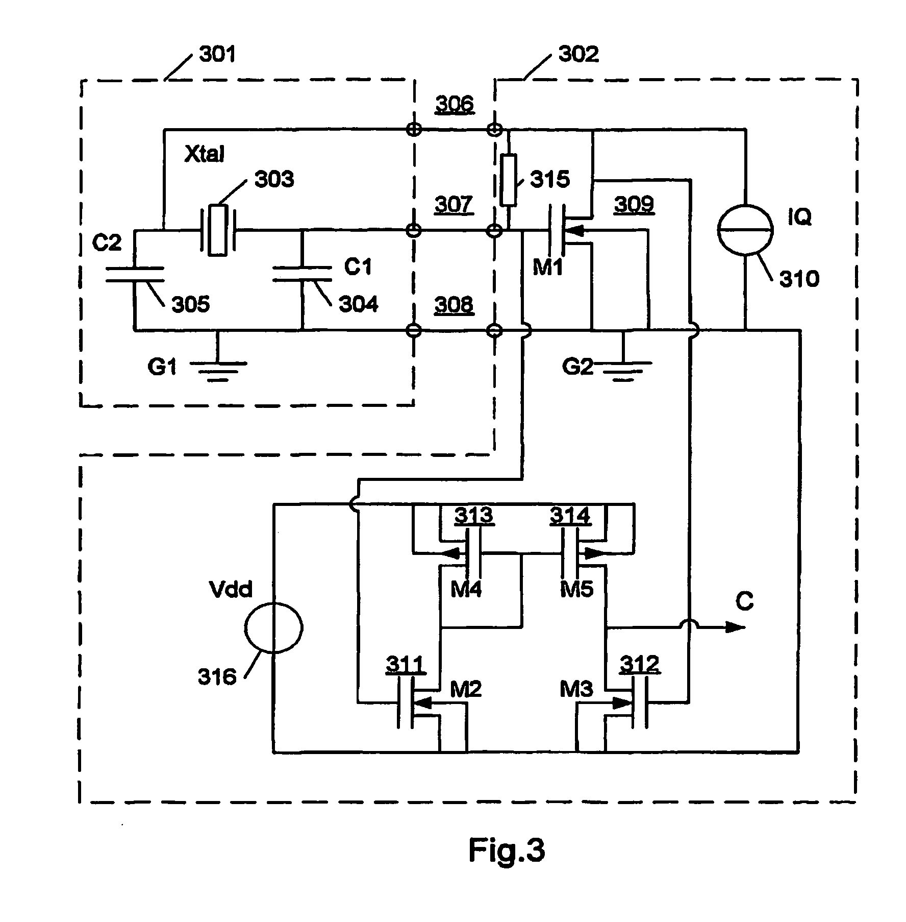 Patent Us7675375 Electrical Oscillator Circuit And An Integrated Cmos Inverter Parallel Lc Oscillatorcircuit Signal Drawing