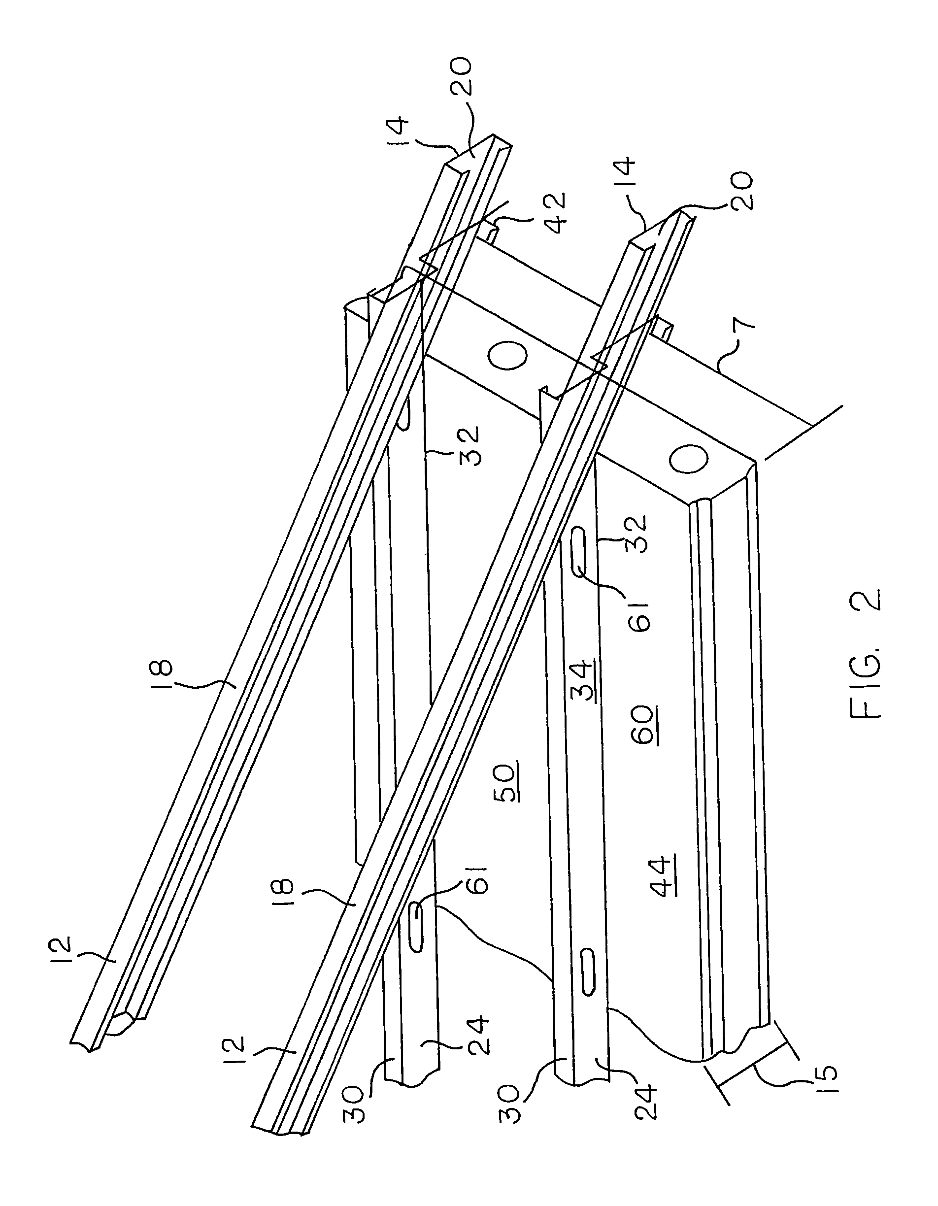 patent us7677009 - roof truss system