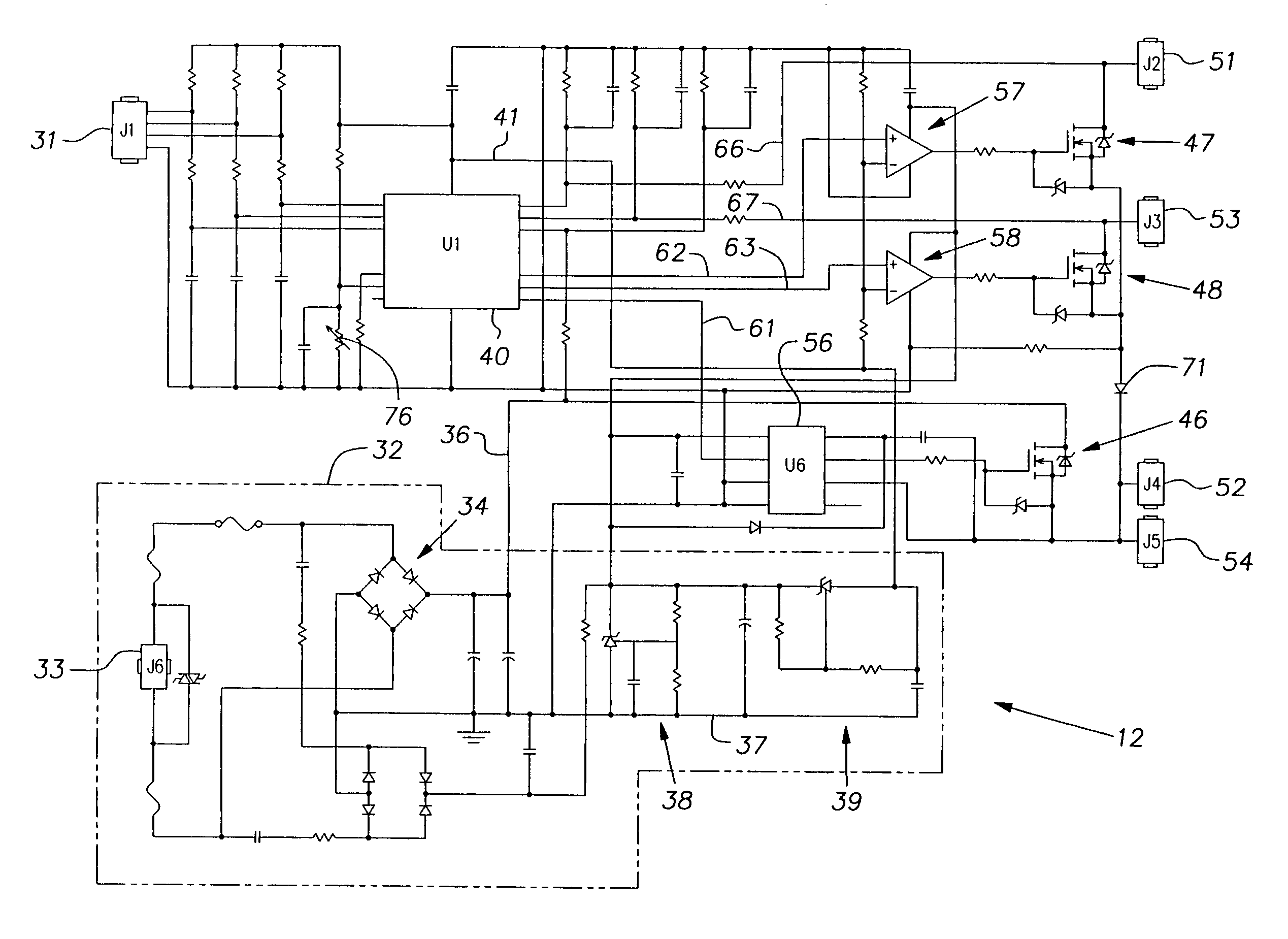Brevet Us7683560 Brushless Dc Permanent Magnet Motor Google Brevets Control Circuit Diagram Patent Drawing