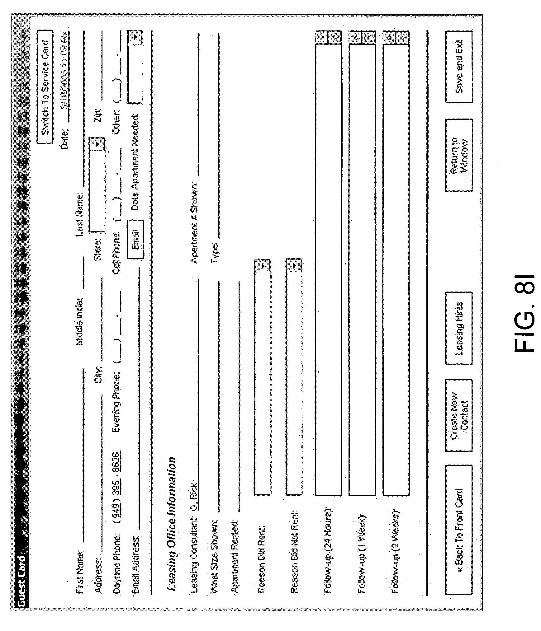 customer info card template