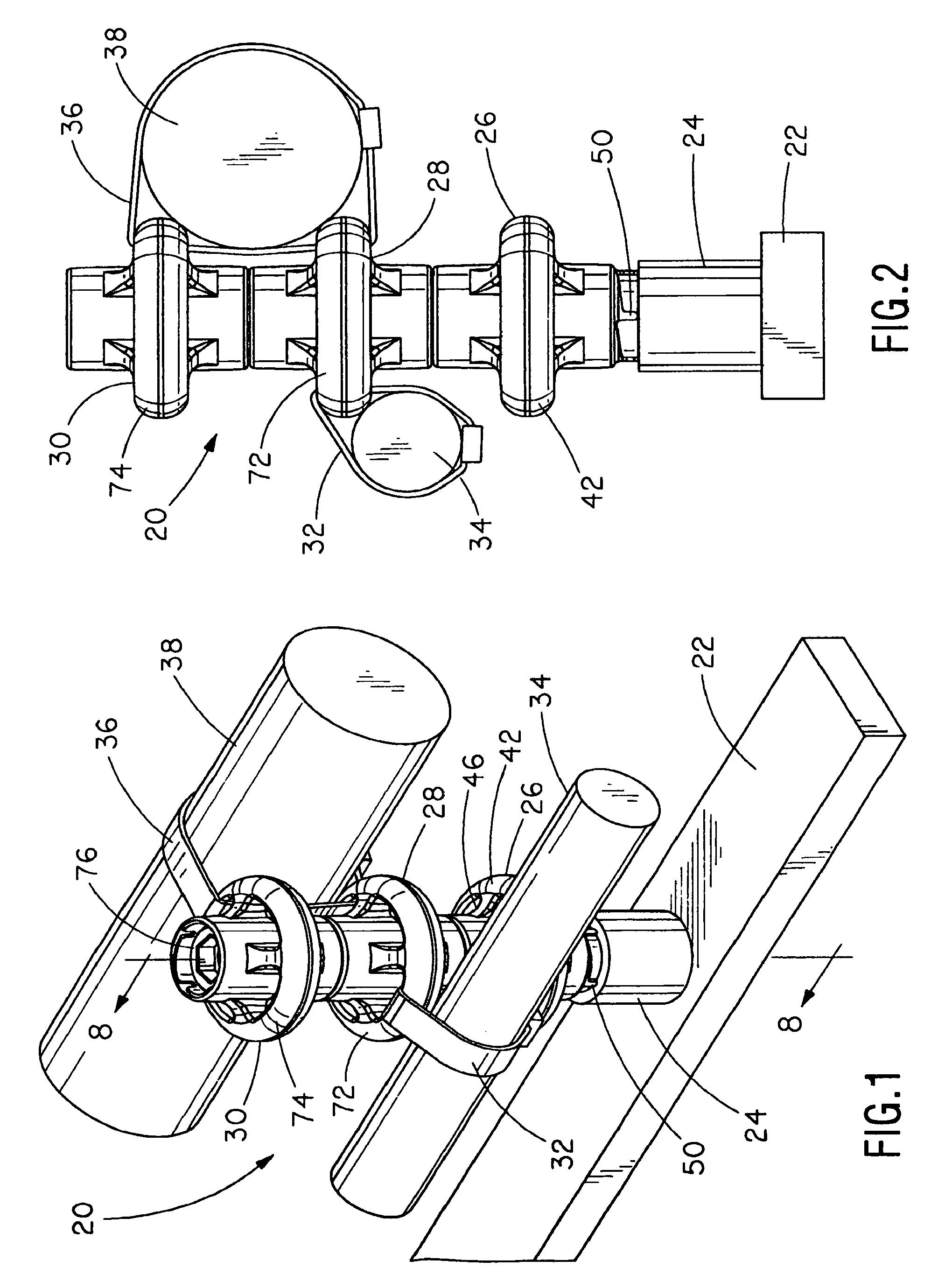 patent us7686259 ringpost assembly google patents patent drawing