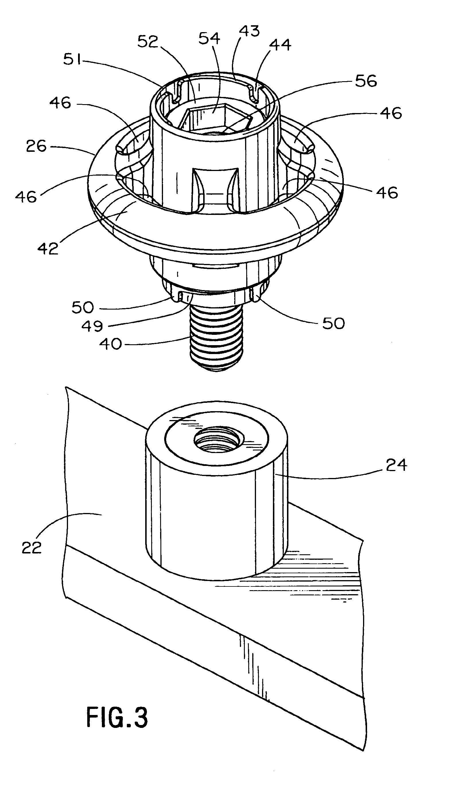 patent us7686259 ringpost assembly google patents patent drawing