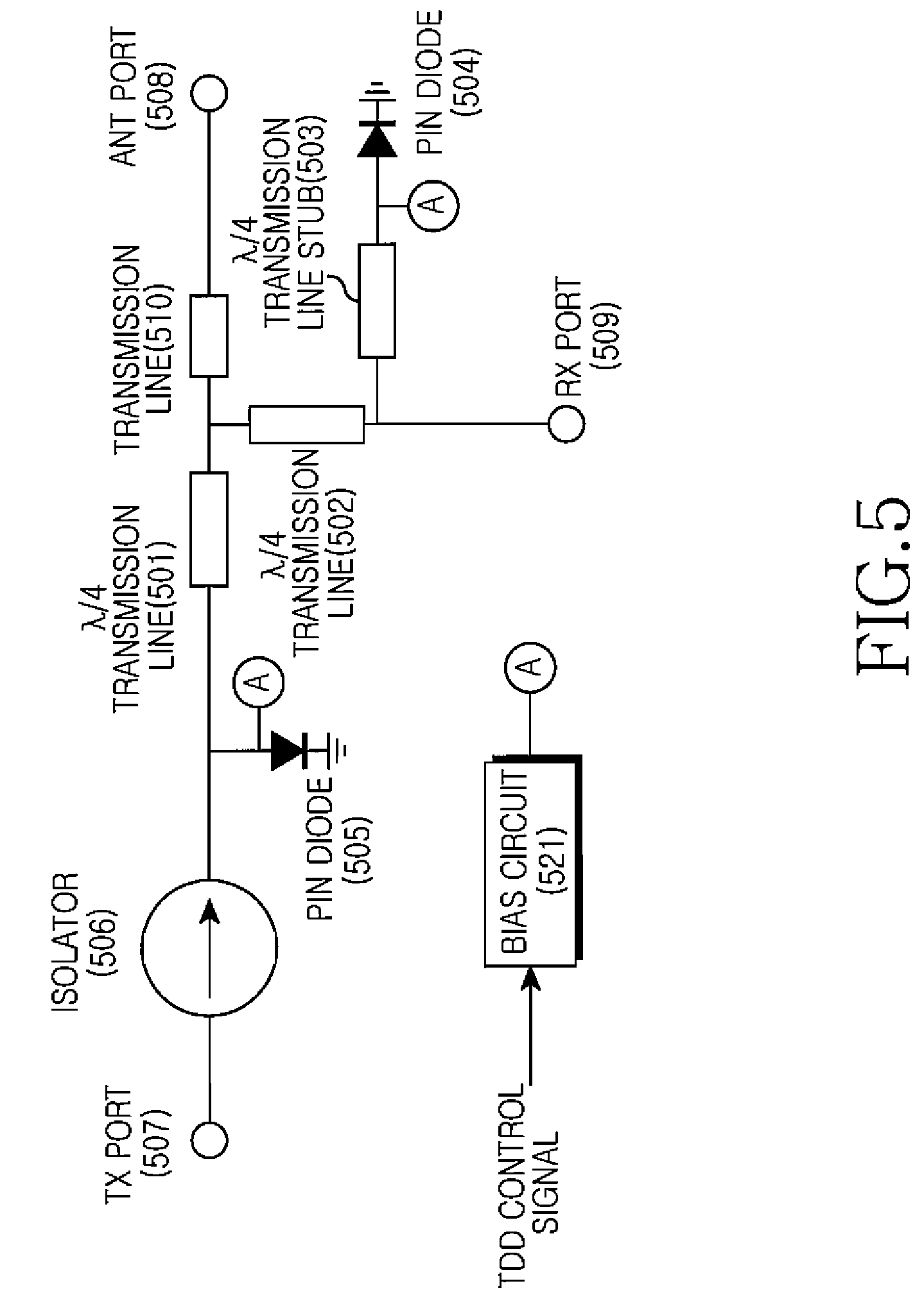 Patent Us7688765 Tdd Switch Of Wireless Communication System 4 Pin Diode Wiring Diagram Drawing