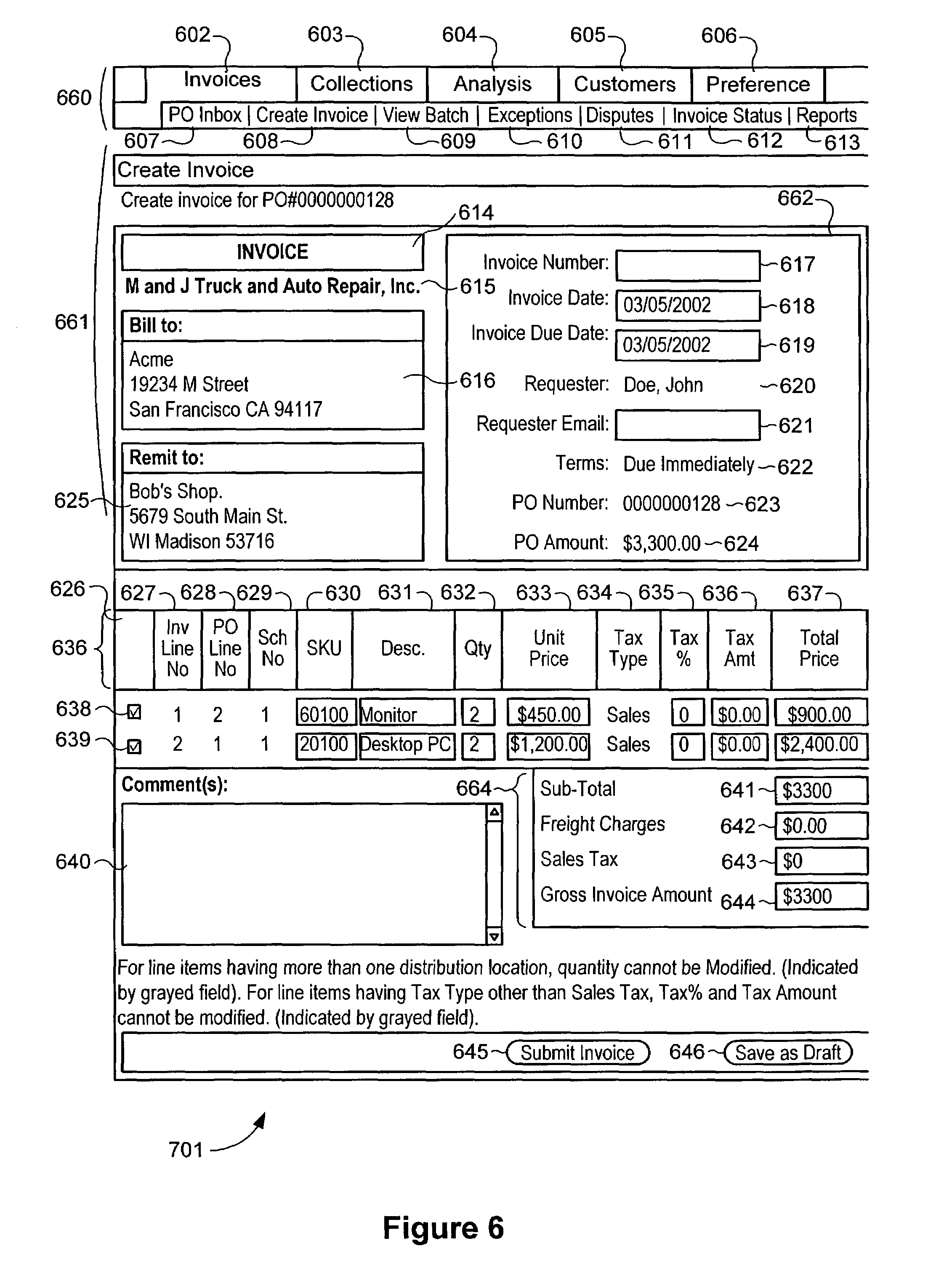 Fake Gas Receipt Patent Us  System And Method For Payer Buyer Defined  Invoice Template Illustrator with H1 Receipt Status Pdf Patent Drawing How Do I Send A Paypal Invoice Excel