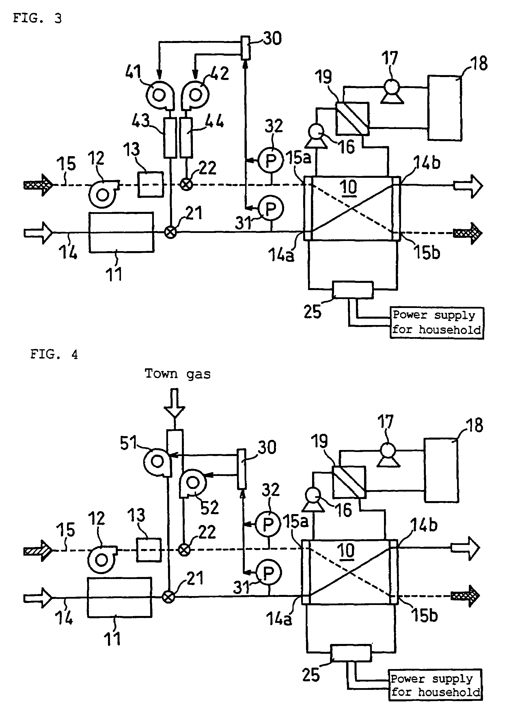 patent us7691510 - fuel cell system with differential pressure control