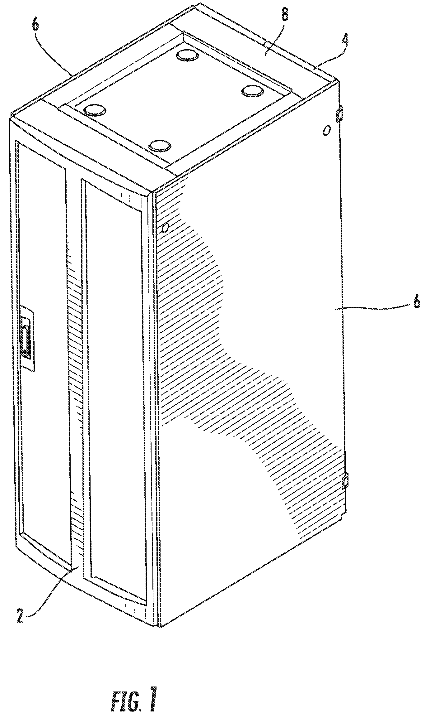 Duct Fan In An Enclosure : Patent us electronic equipment enclosure with