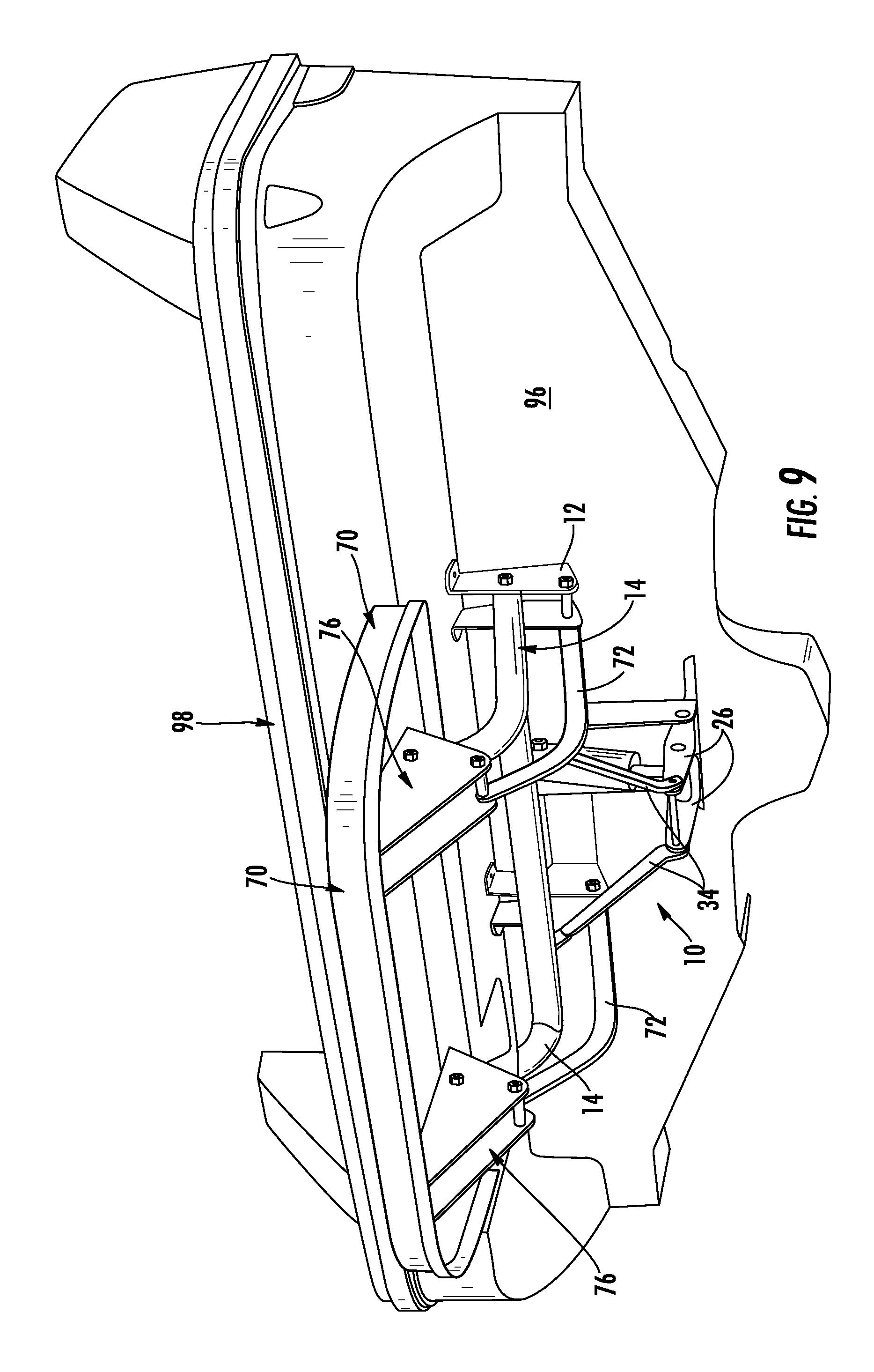 patent us7707955 transom platform lifting apparatus and method Lights Wiring Diagram patent drawing