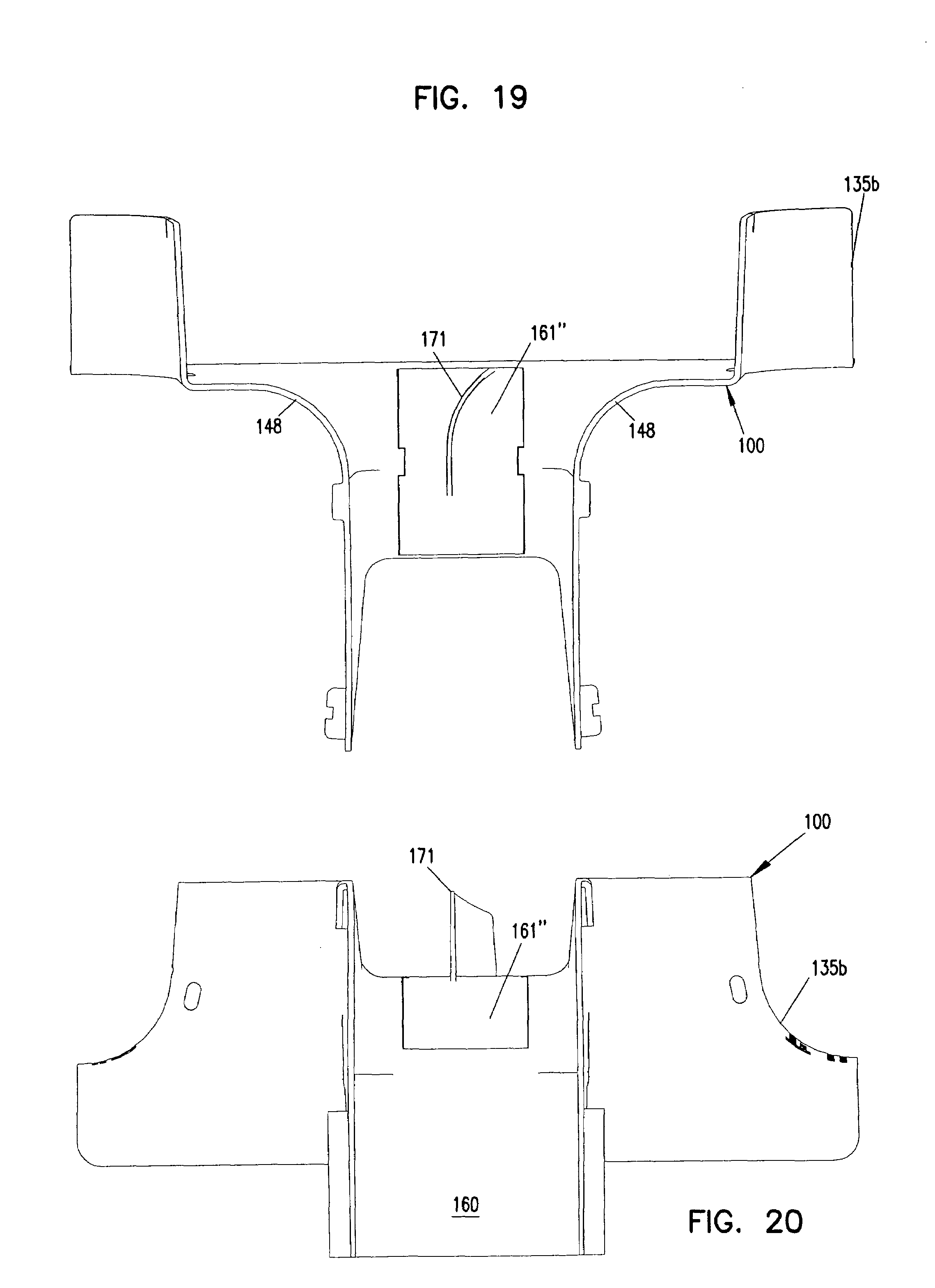 Patent Us7715684 Cable Exit Trough With Cover Google Patents Wiring Definition Drawing