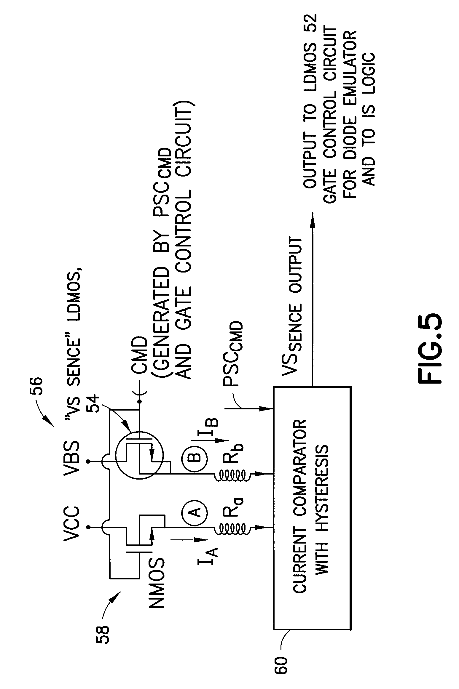 Patent Us7719223 Switching Node Based Sensorless Motor Control For Diode Logic Circuits Drawing