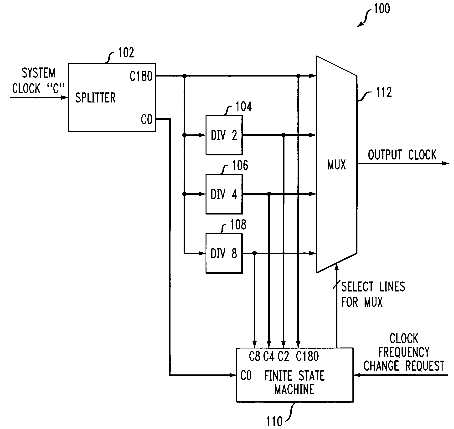 Patent Us7724059 Clock Scaling Circuit Google Patents Frequency Changer Drawing
