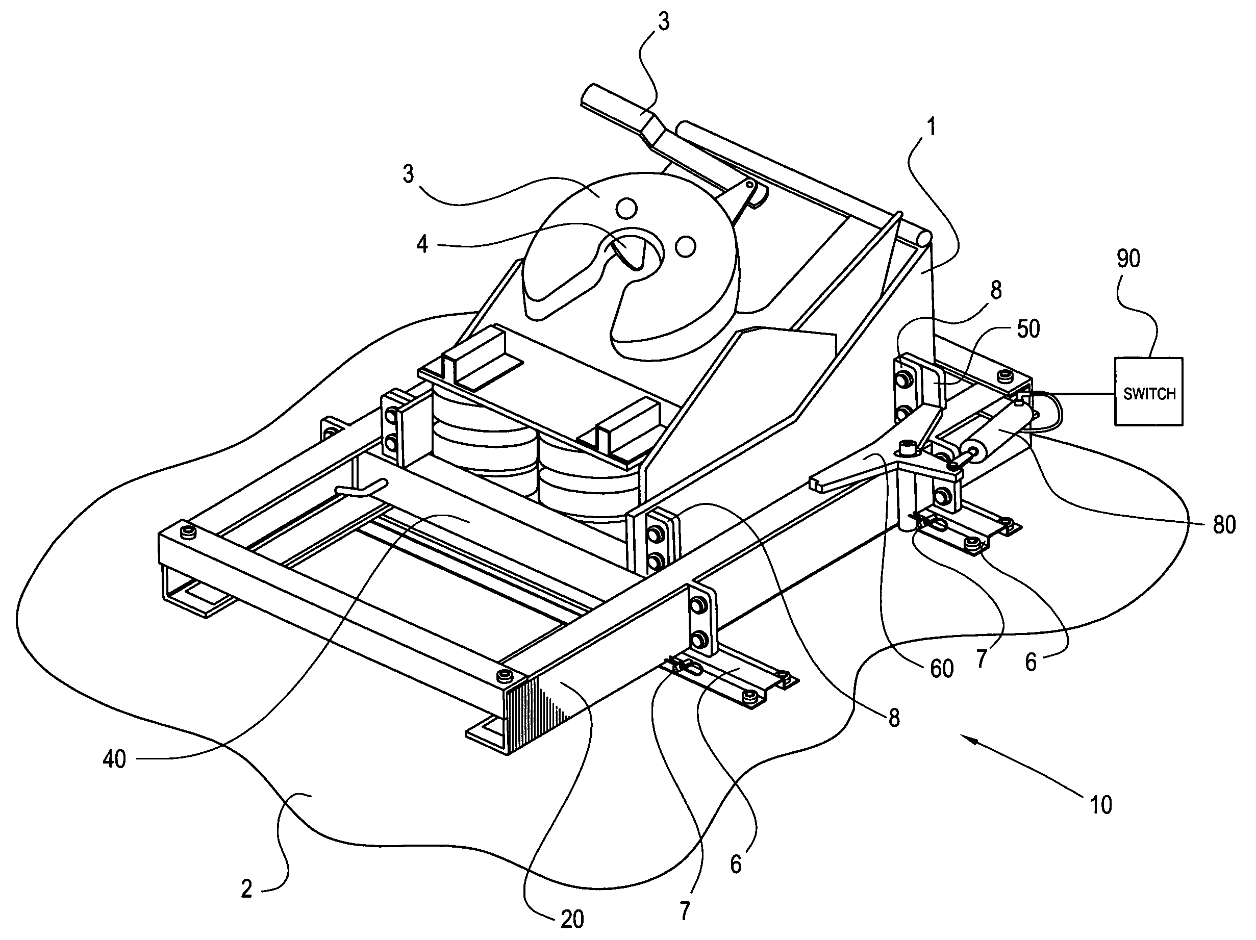 patent us7726678 - sliding fifth wheel assembly