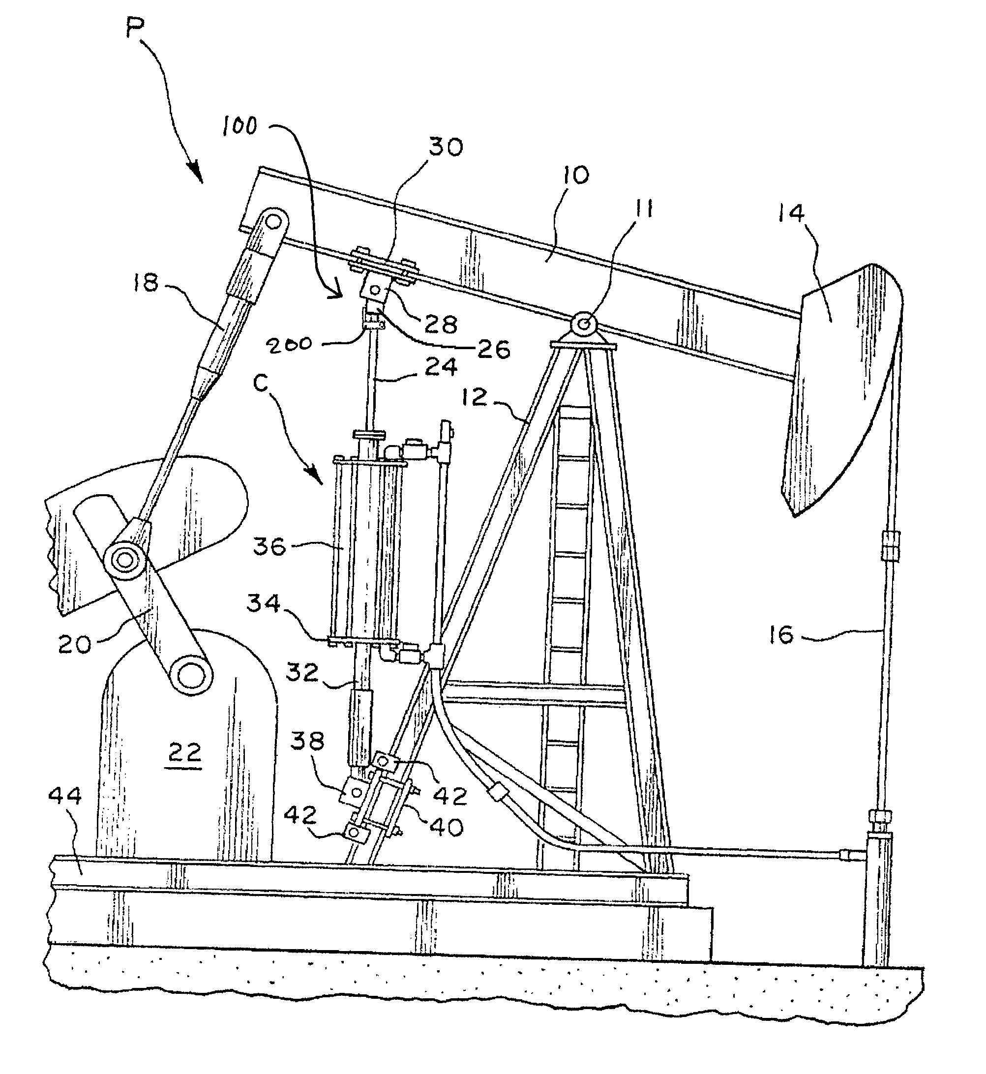 patent us7730939 - safety clamp for walking beam compressor