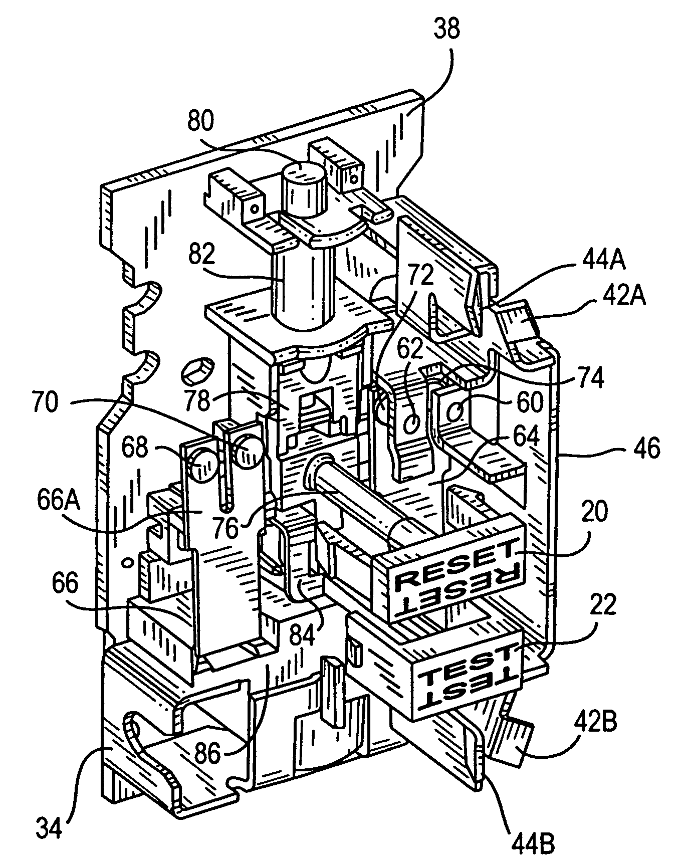 US07737809 20100615 D00000 patent us7737809 circuit interrupting device and system,Wiring A Gfci Circuit