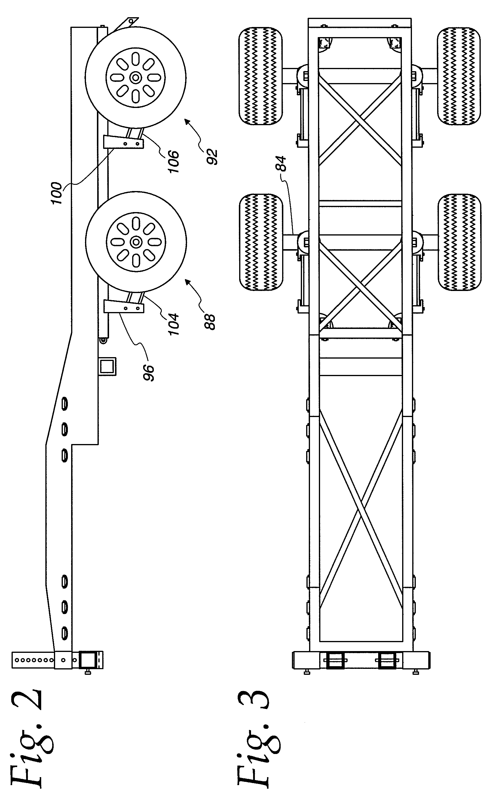 Patent US7740265 - Semi tractor dolly embly - Google Patents on
