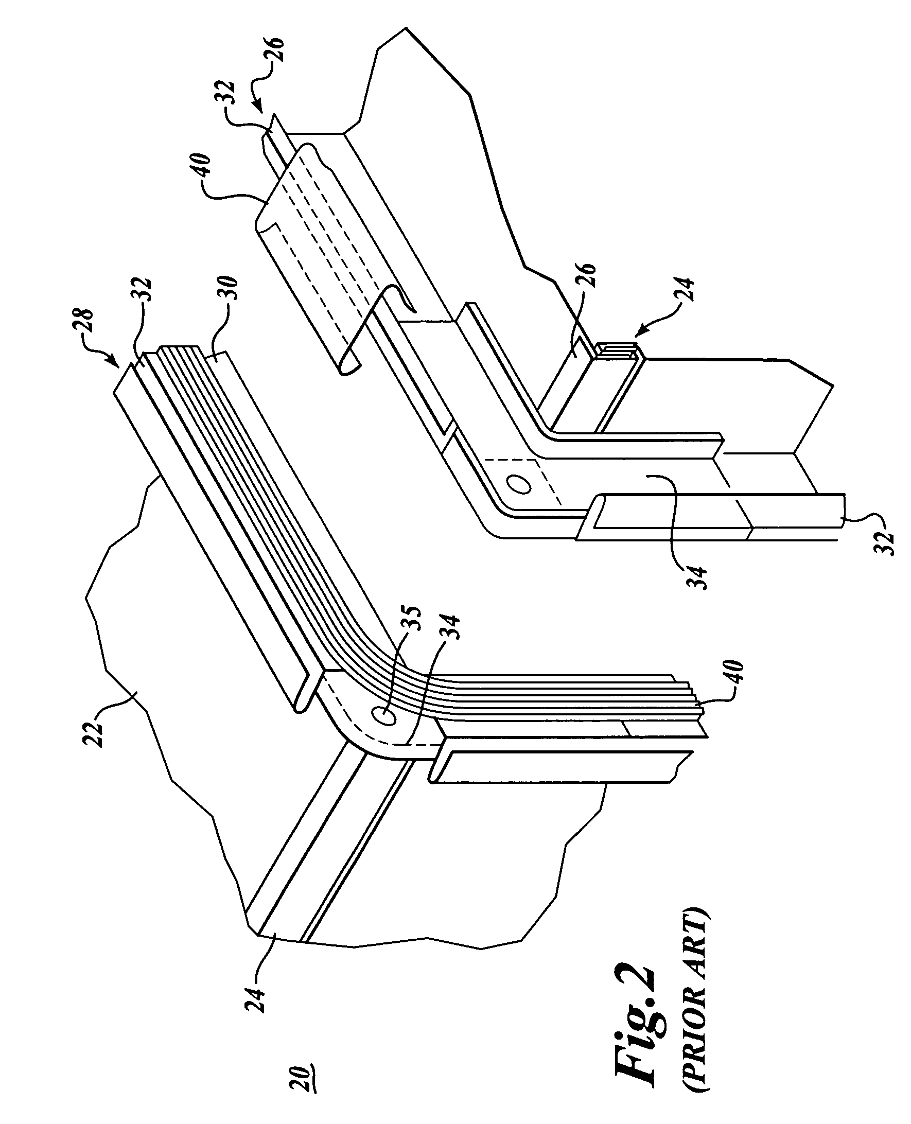 patent us7743504 - rectangular and square ducting systems