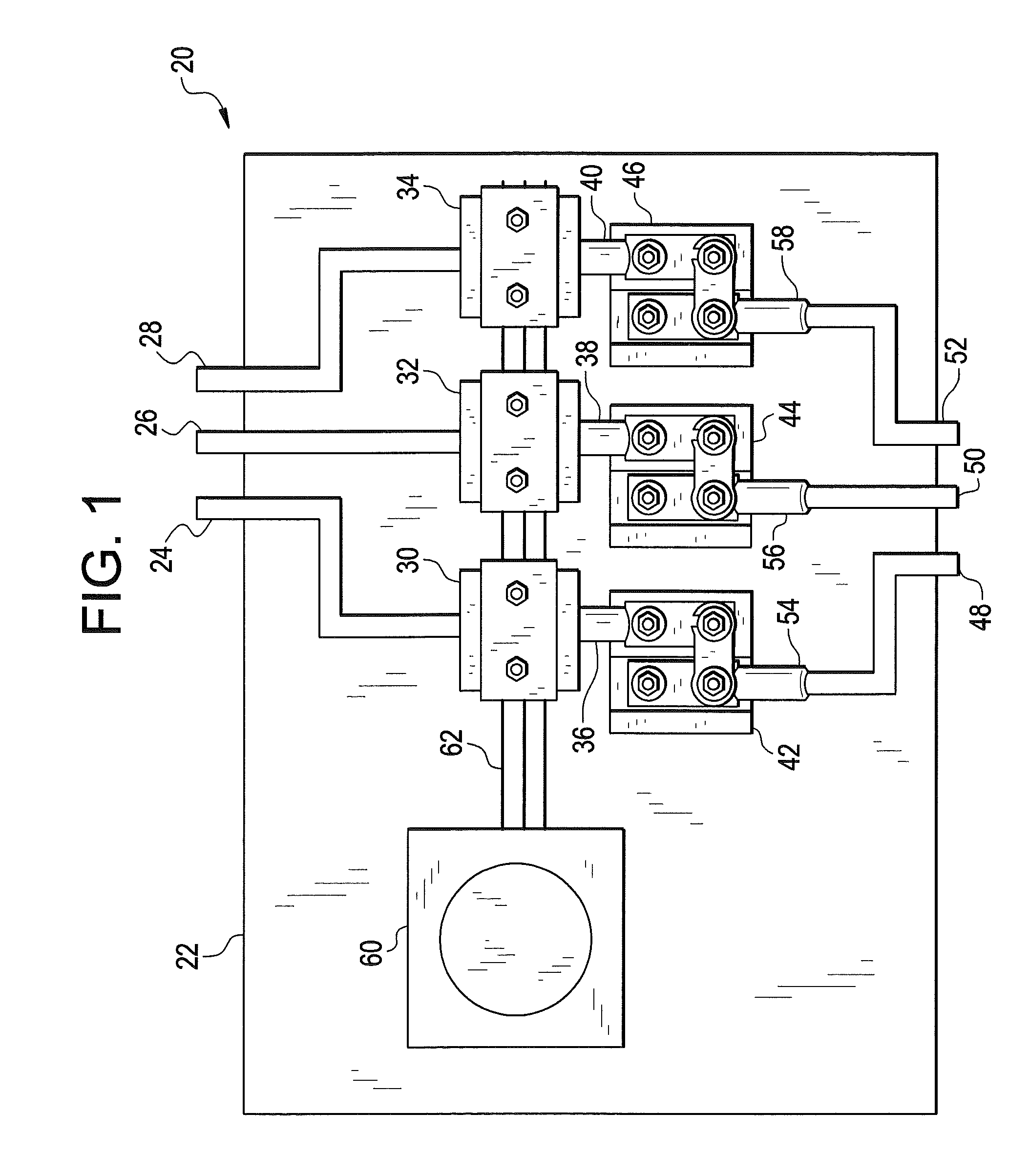 patent us7746624 - current transformer disconnect switch