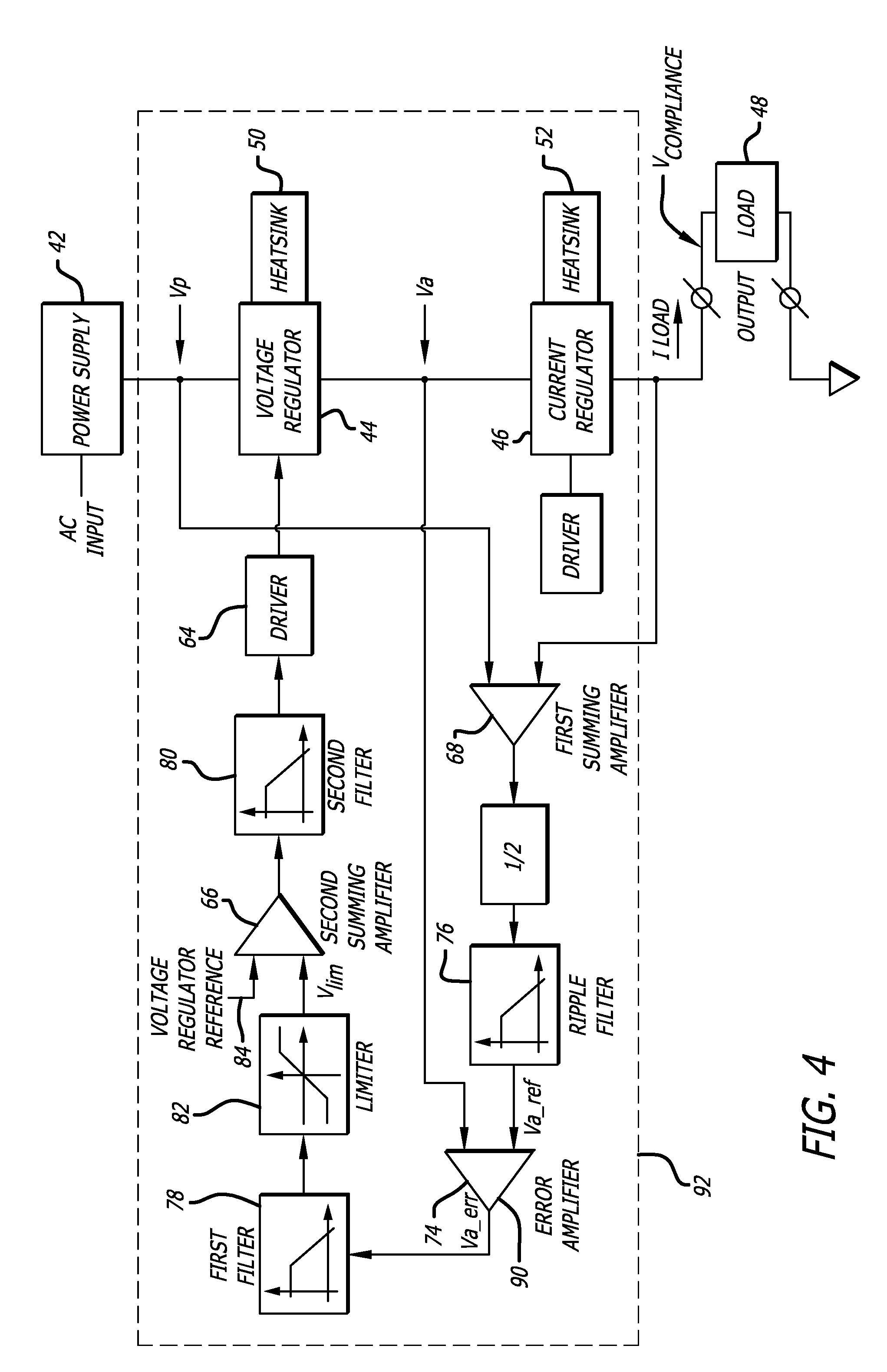 Patent Us7750608 Methods And Devices For Low Noise Current Source Voltregulator Negative Fixedvoltage Regulator Circuit Diagram Drawing