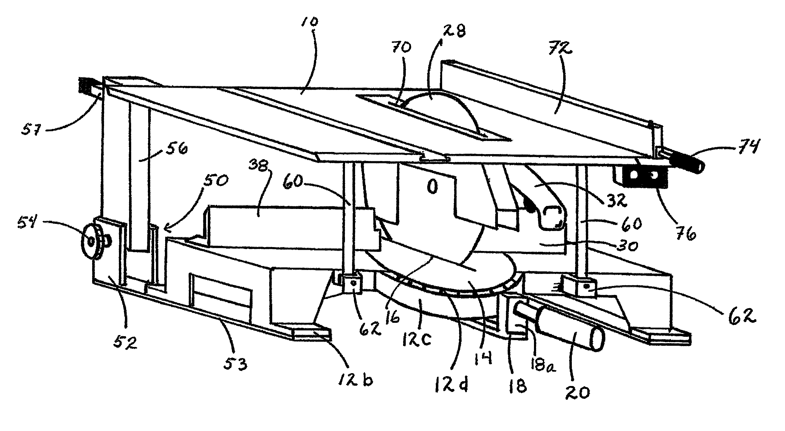 Patent US7752951 - Convertible circular saw apparatus usable as ...