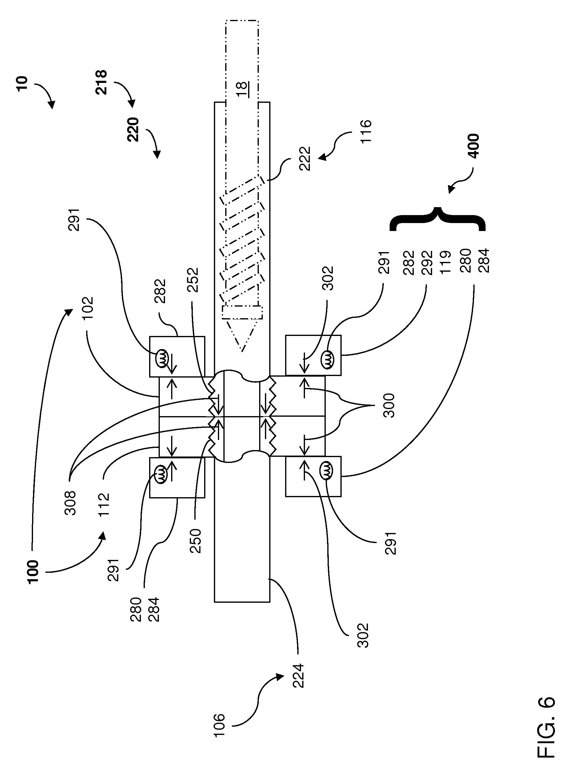 patent us7753671 - mechanical fuse assembly of molding system