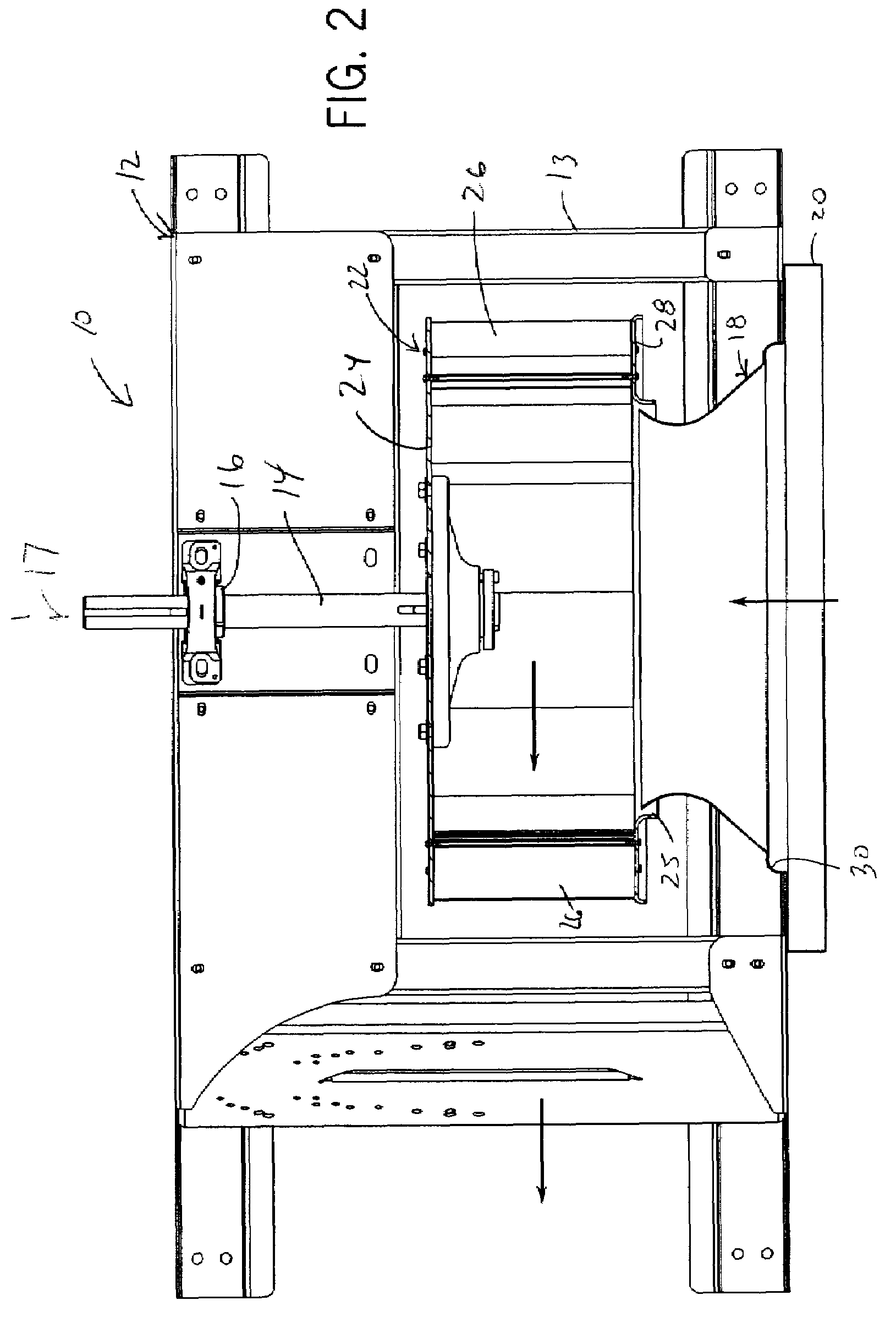 Patent US7758305 Centrifugal fan with turbulence inducing inlet bell  #343434