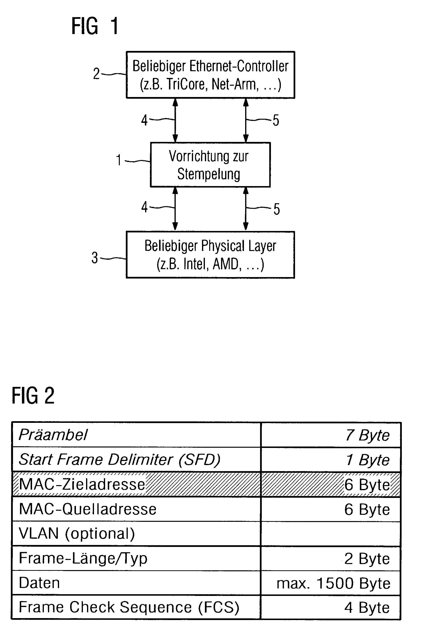 Patent US7760724 - Method for stamping any ethernet frames in ...