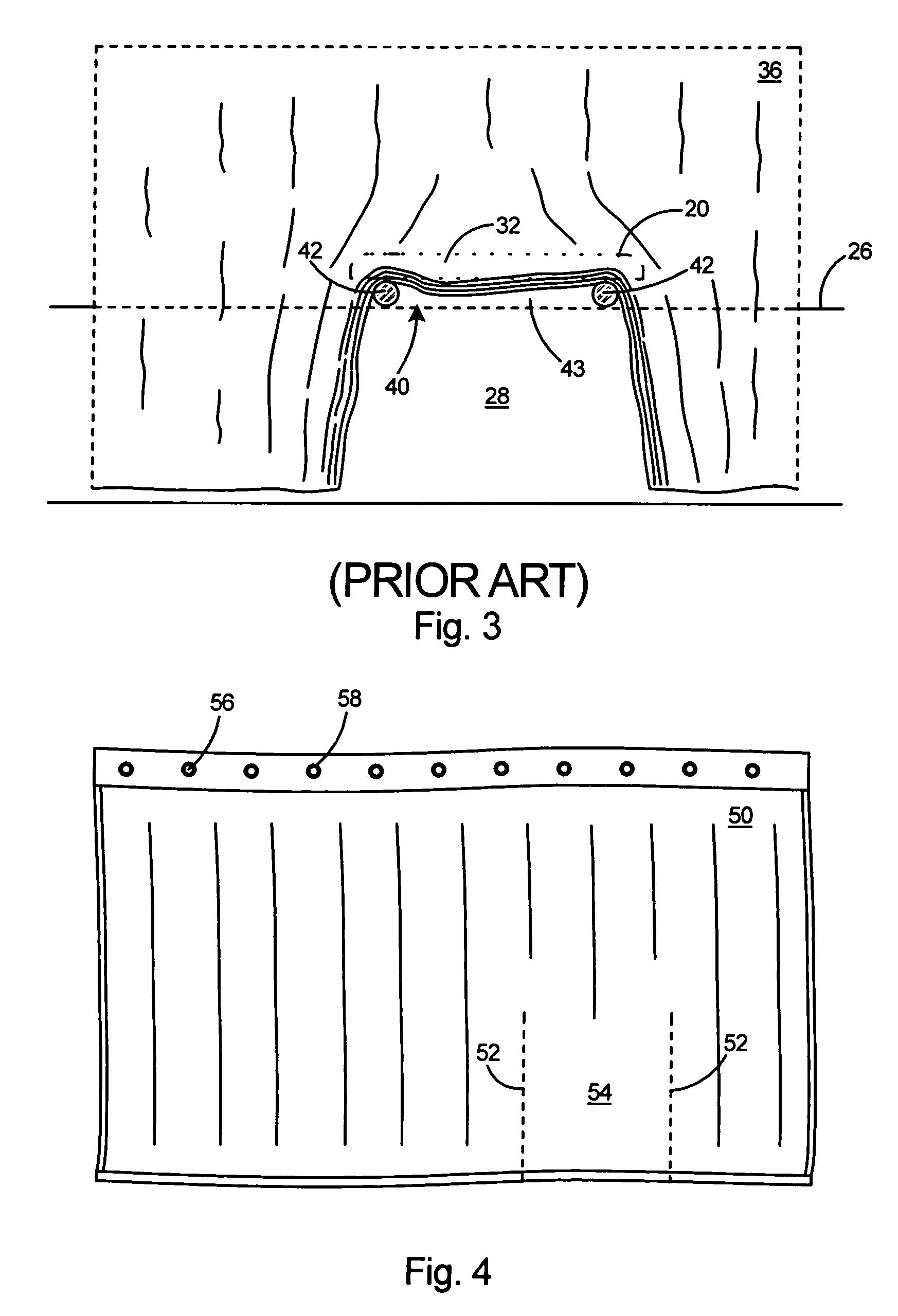 Bathtub Transfer Bench Shower Curtain - Tubethevote