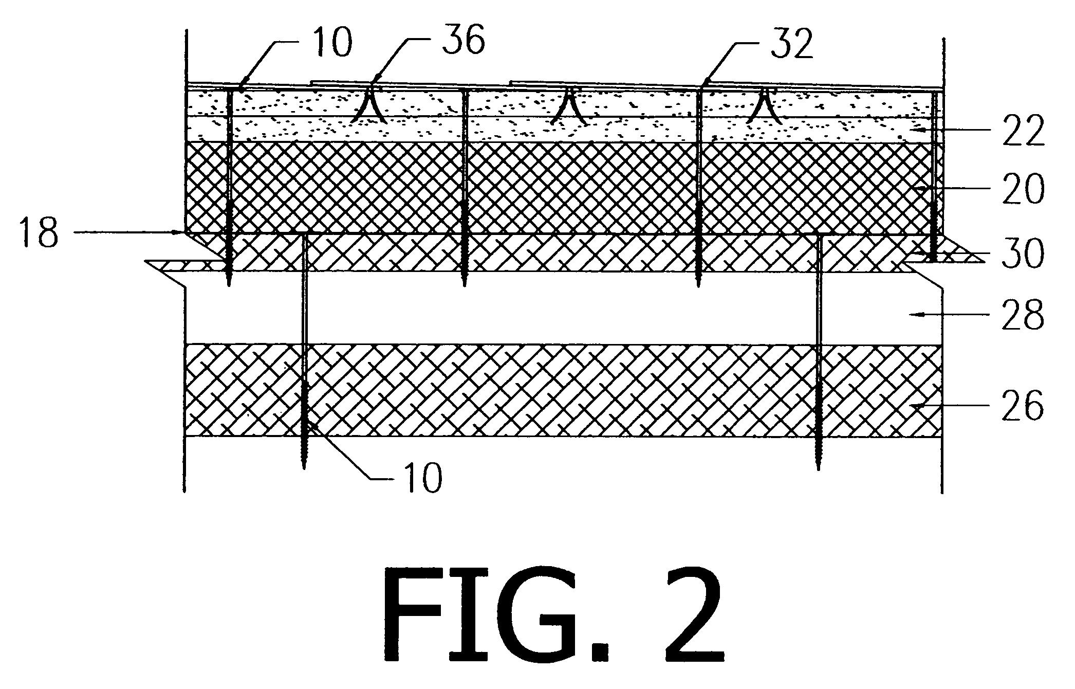 Patent Us7765756 Low Noise Roof Deck System Google Patents