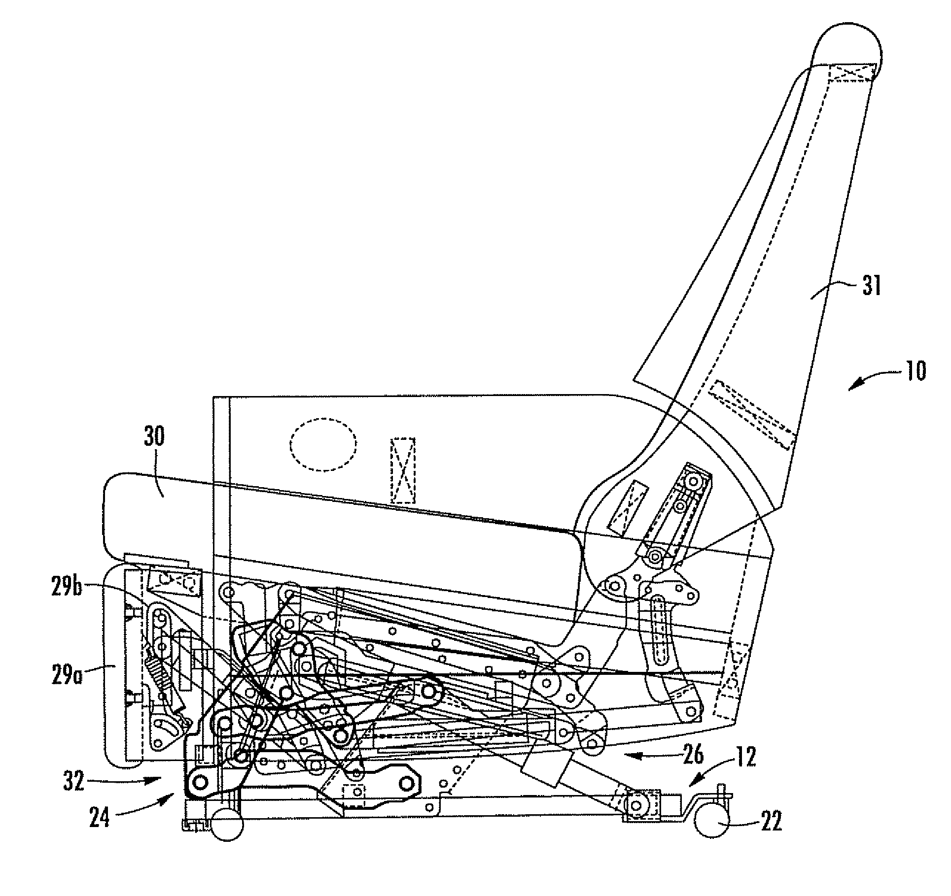 Patent Us7766421 Recliner Lift Chair With Power Lift And