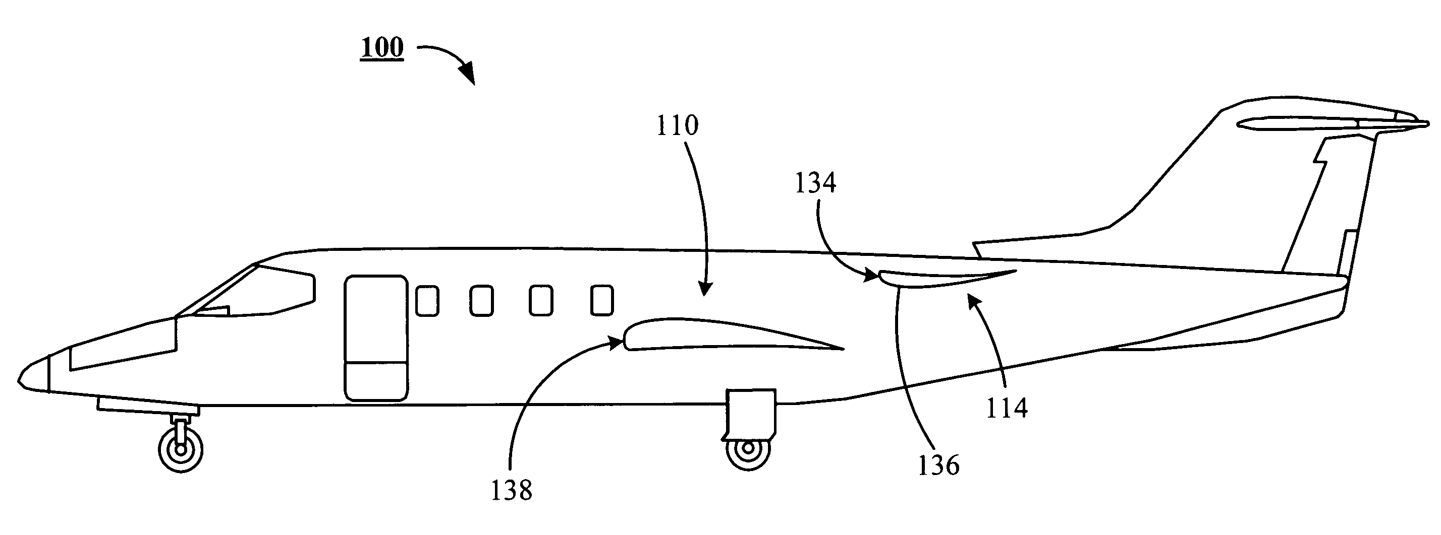 Patent US7770841 Inverted airfoil pylon for an aircraft Google – Learjet Engine Diagram