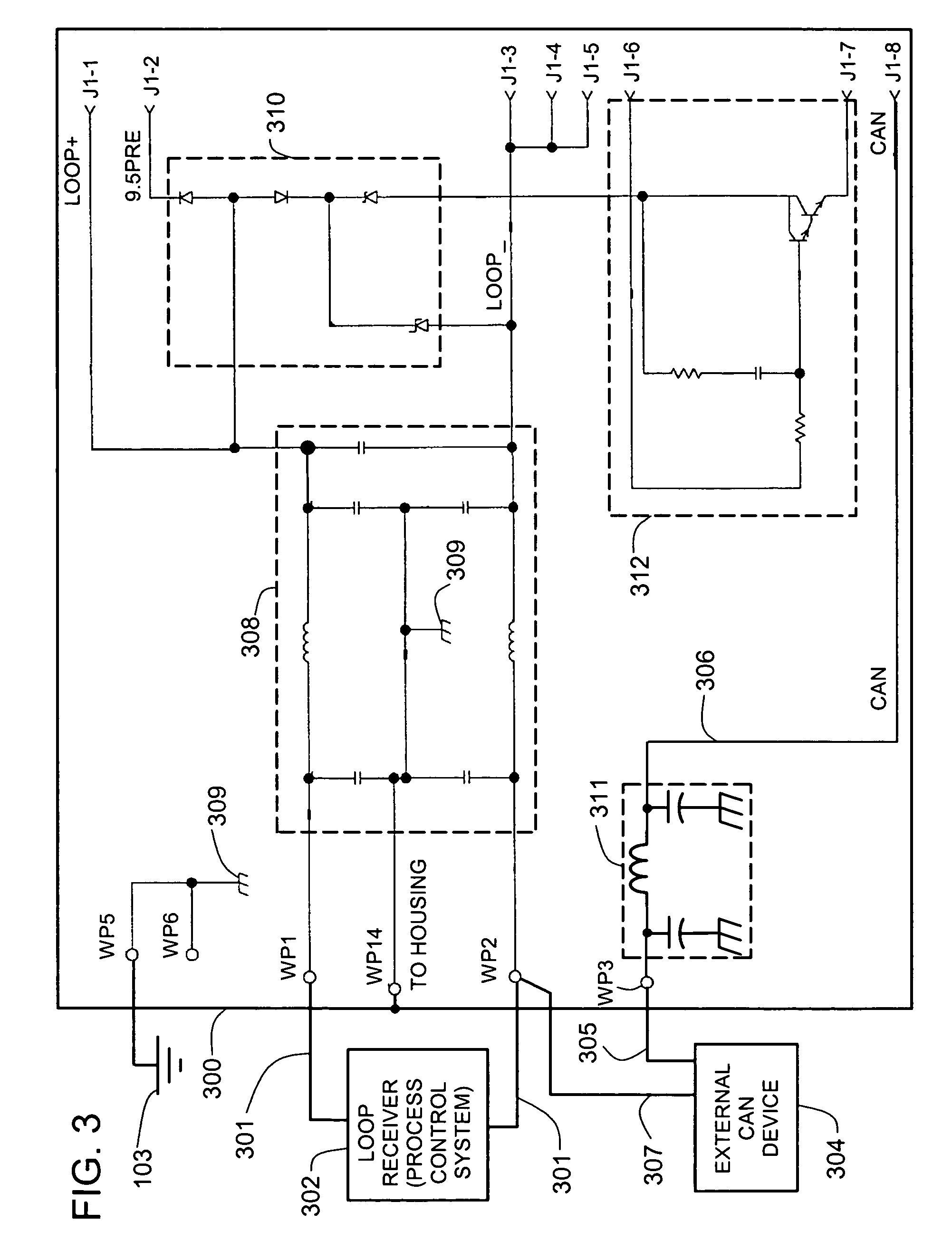 patent us7773715 - two wire transmitter with isolated can output
