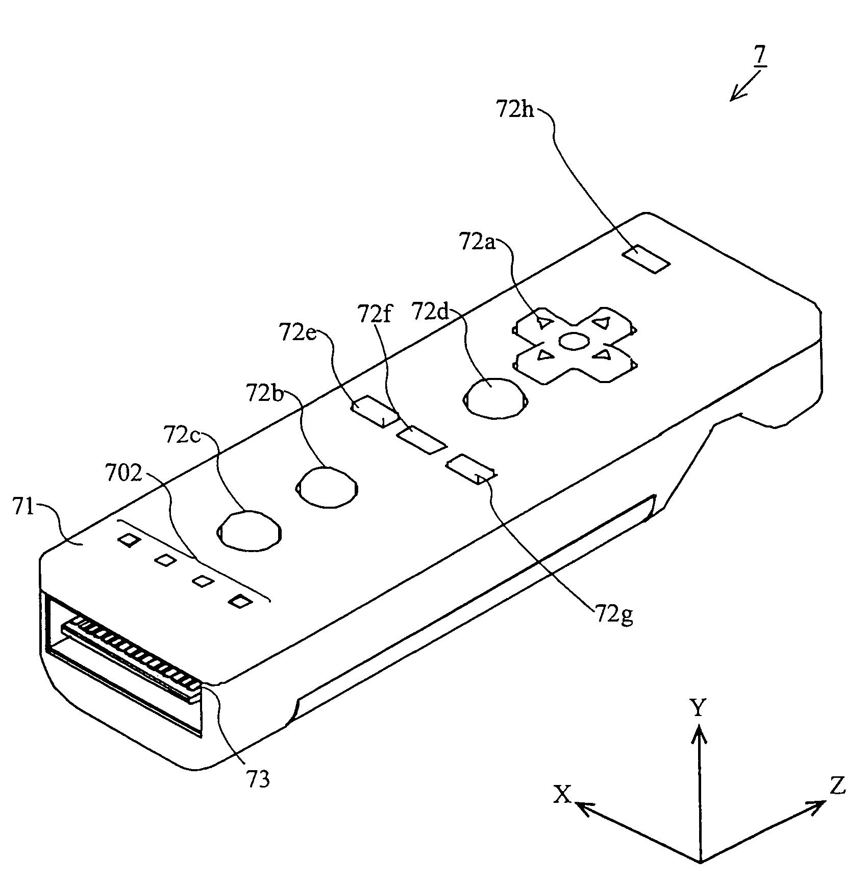 patent us7774155 - accelerometer-based controller