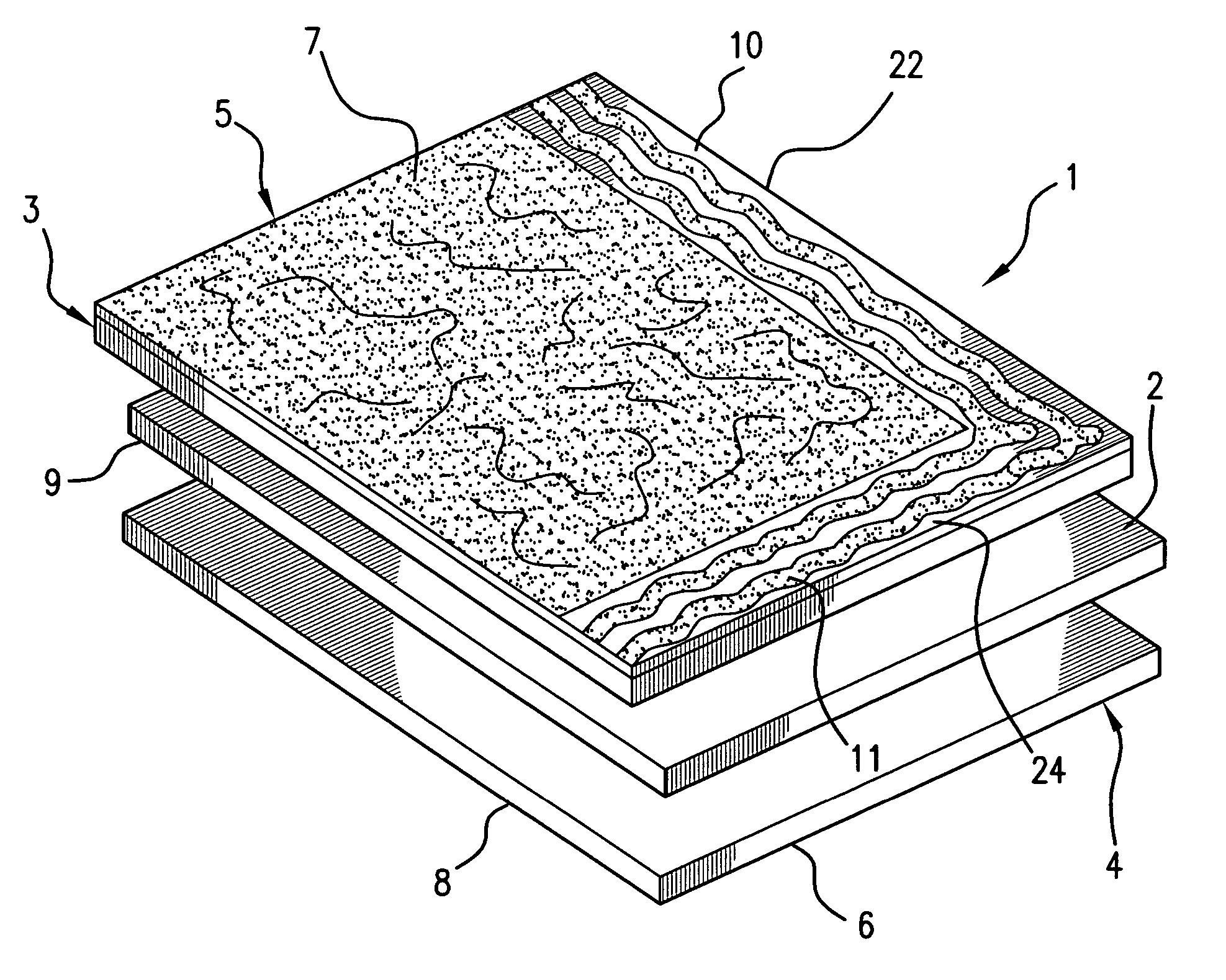 Self Sealing Membrane Roof : Patent us self adhesive ventilating waterproofing