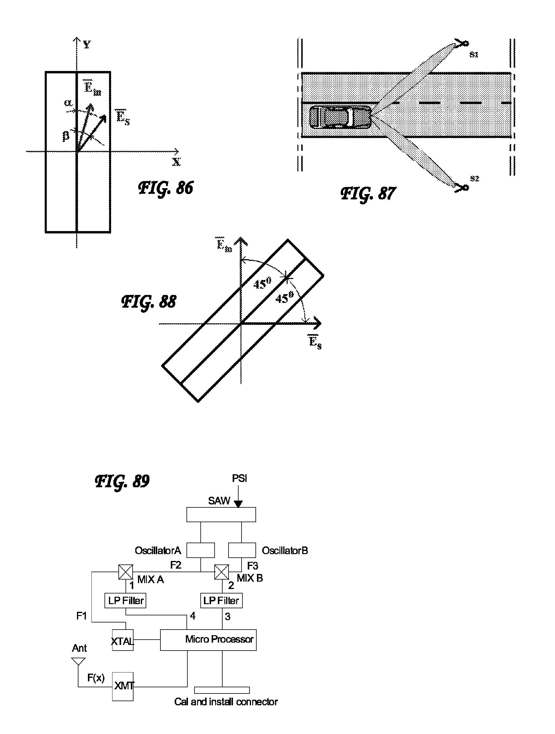 patent us7786864 vehicular rfid and sensor assemblies patents CA Lamp Logo patent drawing