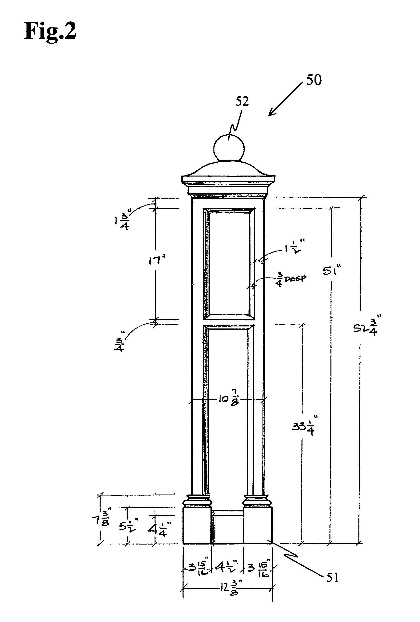 Patent us7794825 prefabricated lightweight concrete for Prefab columns