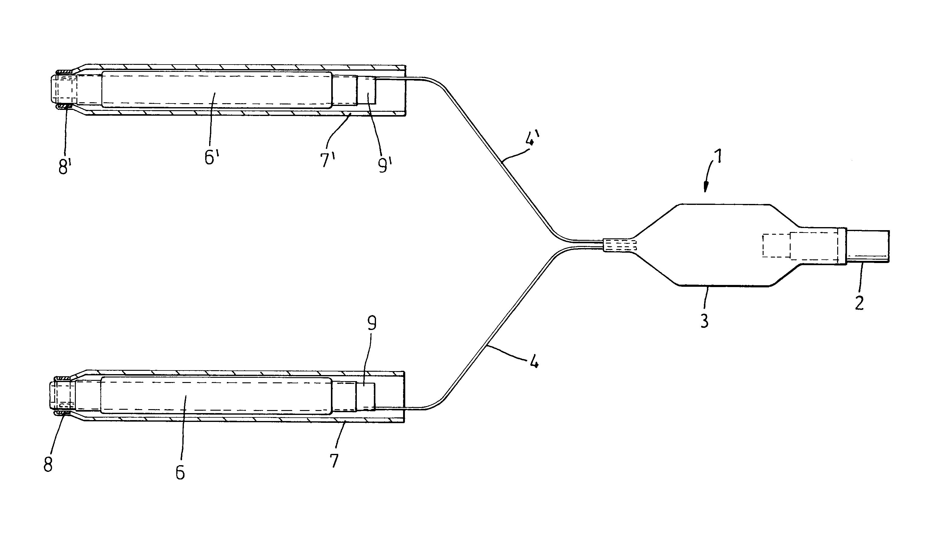Nasal Balloon Tamponade Patent Drawing