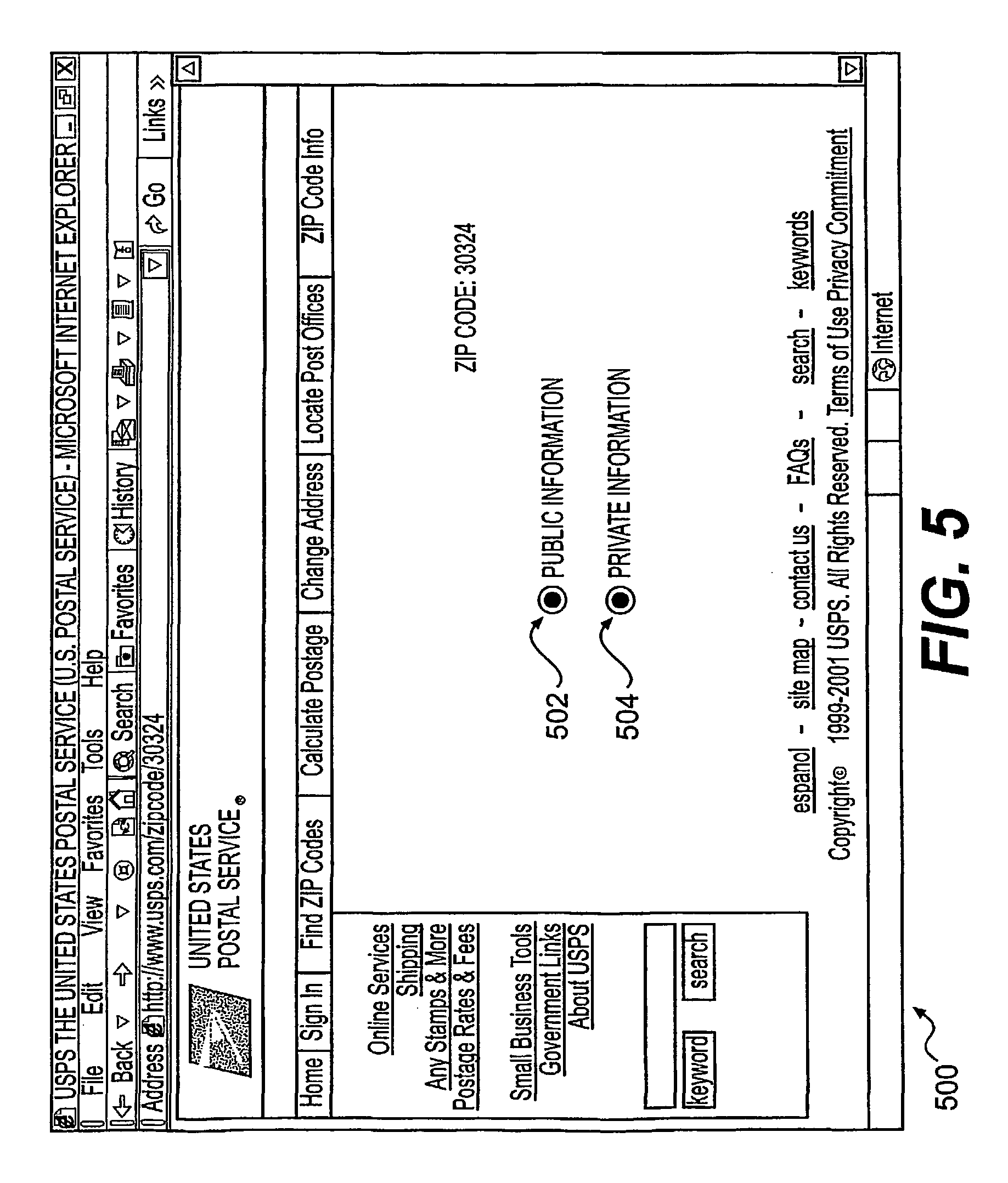 Patent US Systems And Methods For Providing Zip Code - Us zip code alphanumeric
