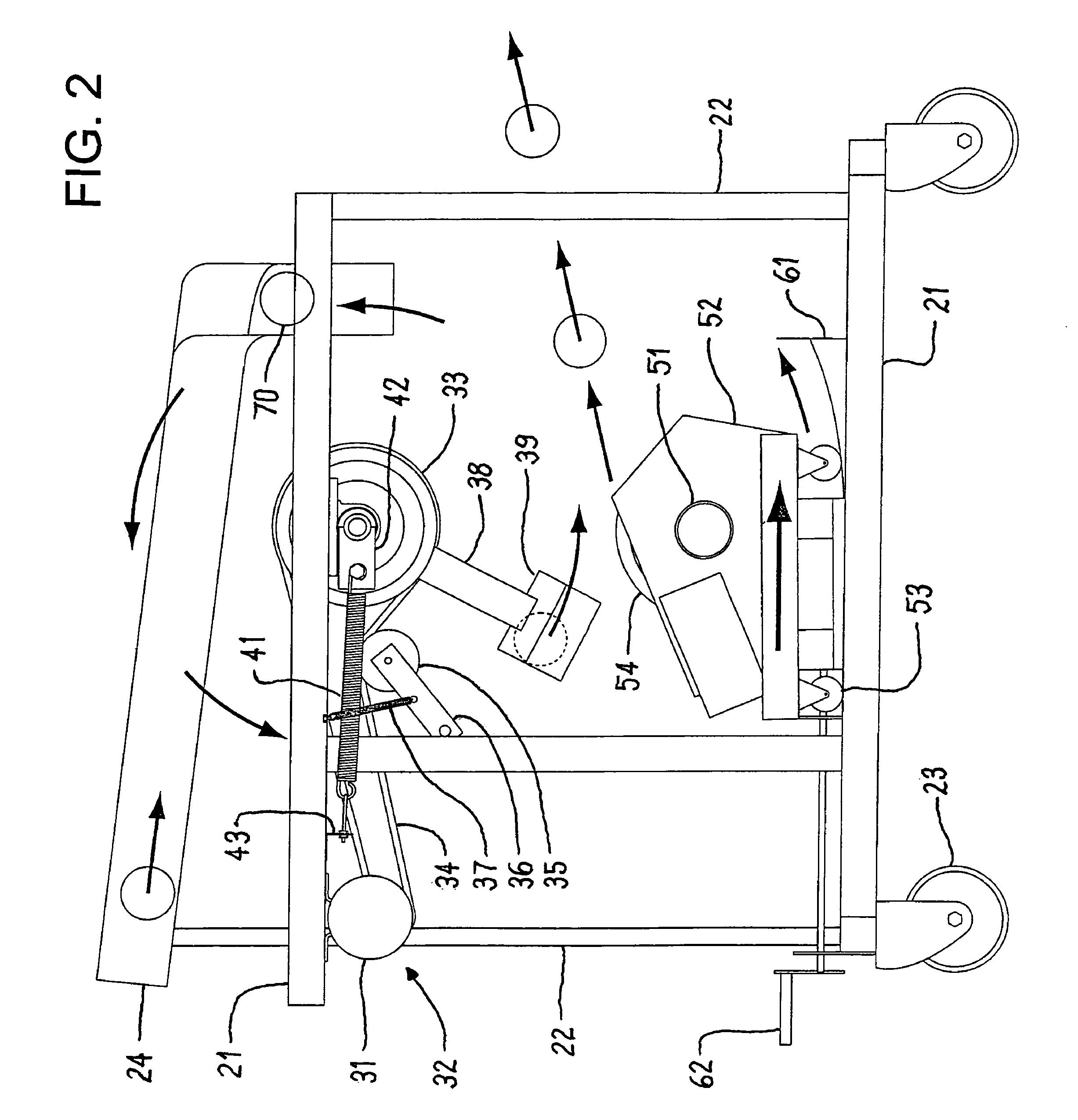 US07806788 20101005 D00002 patent us7806788 pitching machine google patents Game Master Pitching Machines at eliteediting.co
