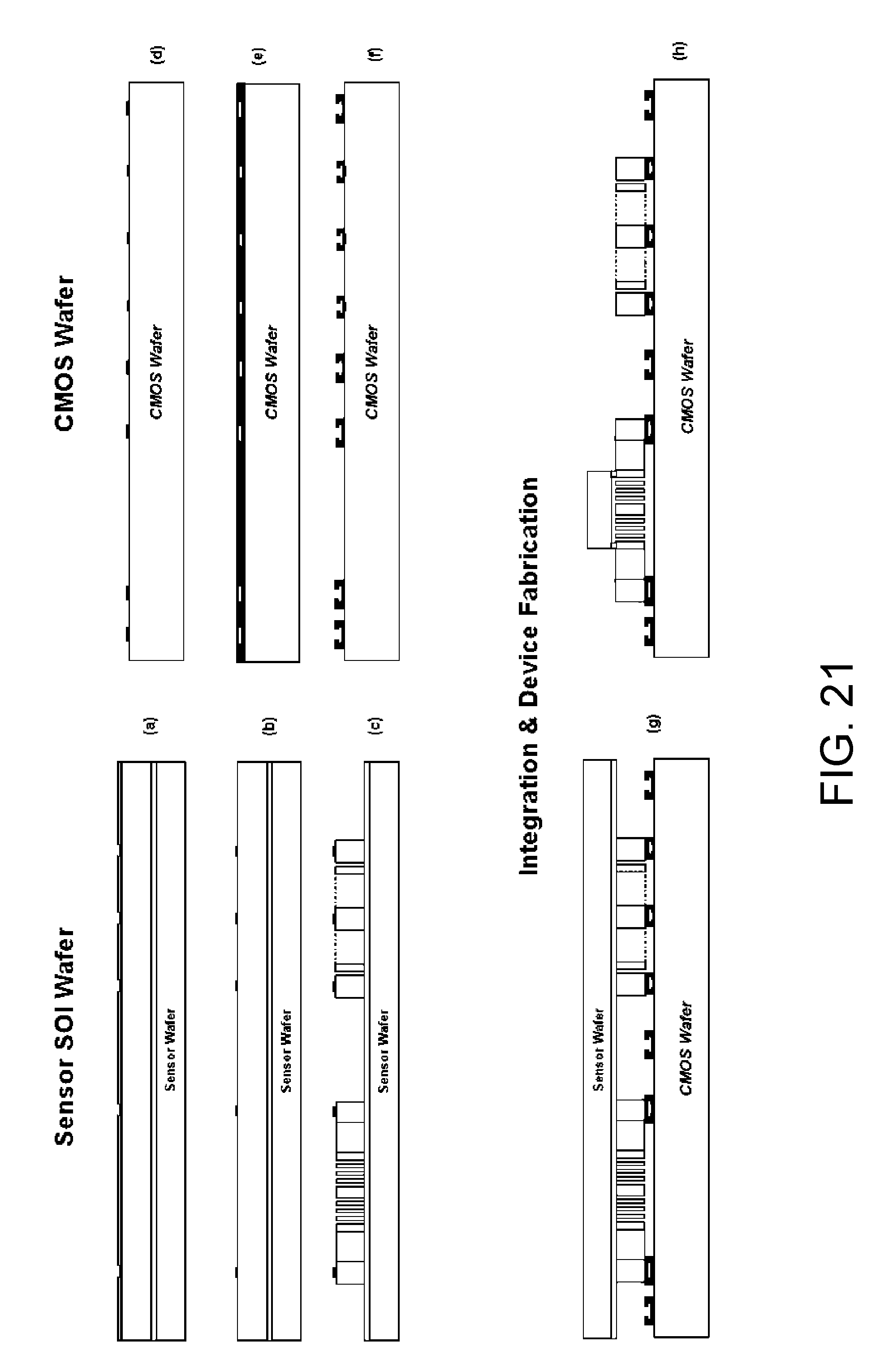 patente us integrated sensor and circuitry patentes patent drawing