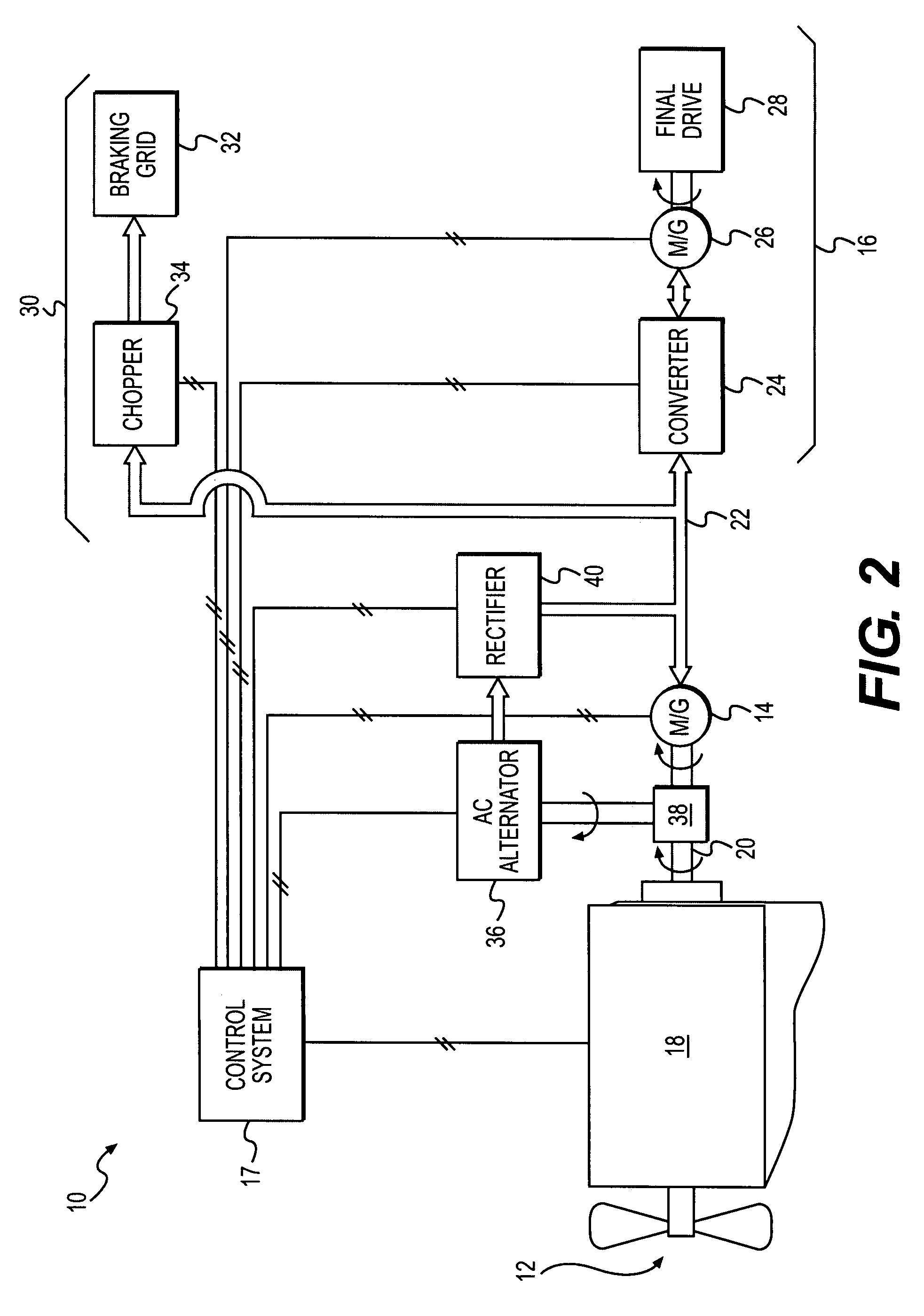 Brevet Us7812555 Electric Powertrain System Having Bidirectional Is The Dc Motor Circuit Which Allows Forward And Reverse Patent Drawing