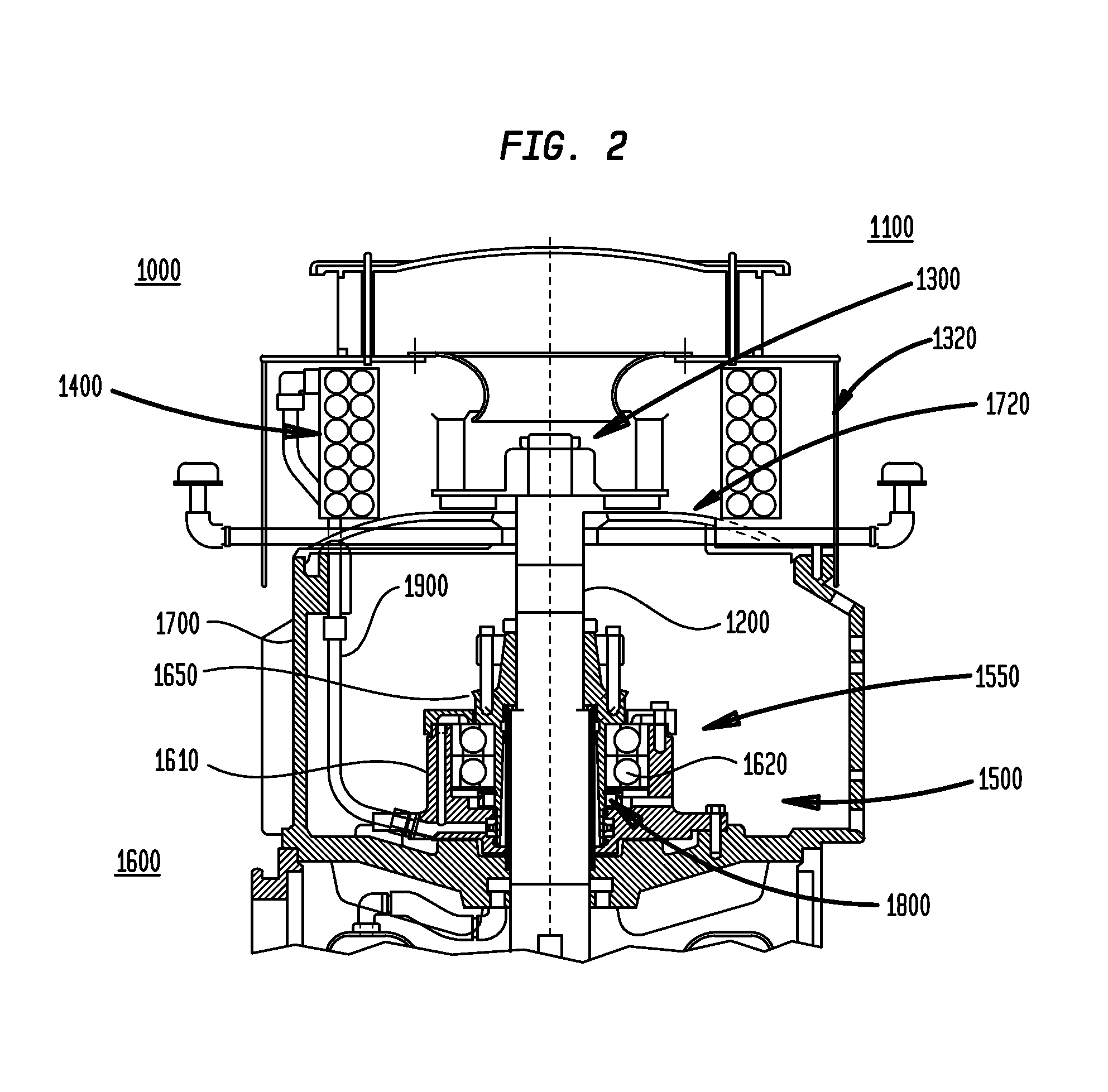 Patent Us7815374 System For Maintaining A Vertical Motor