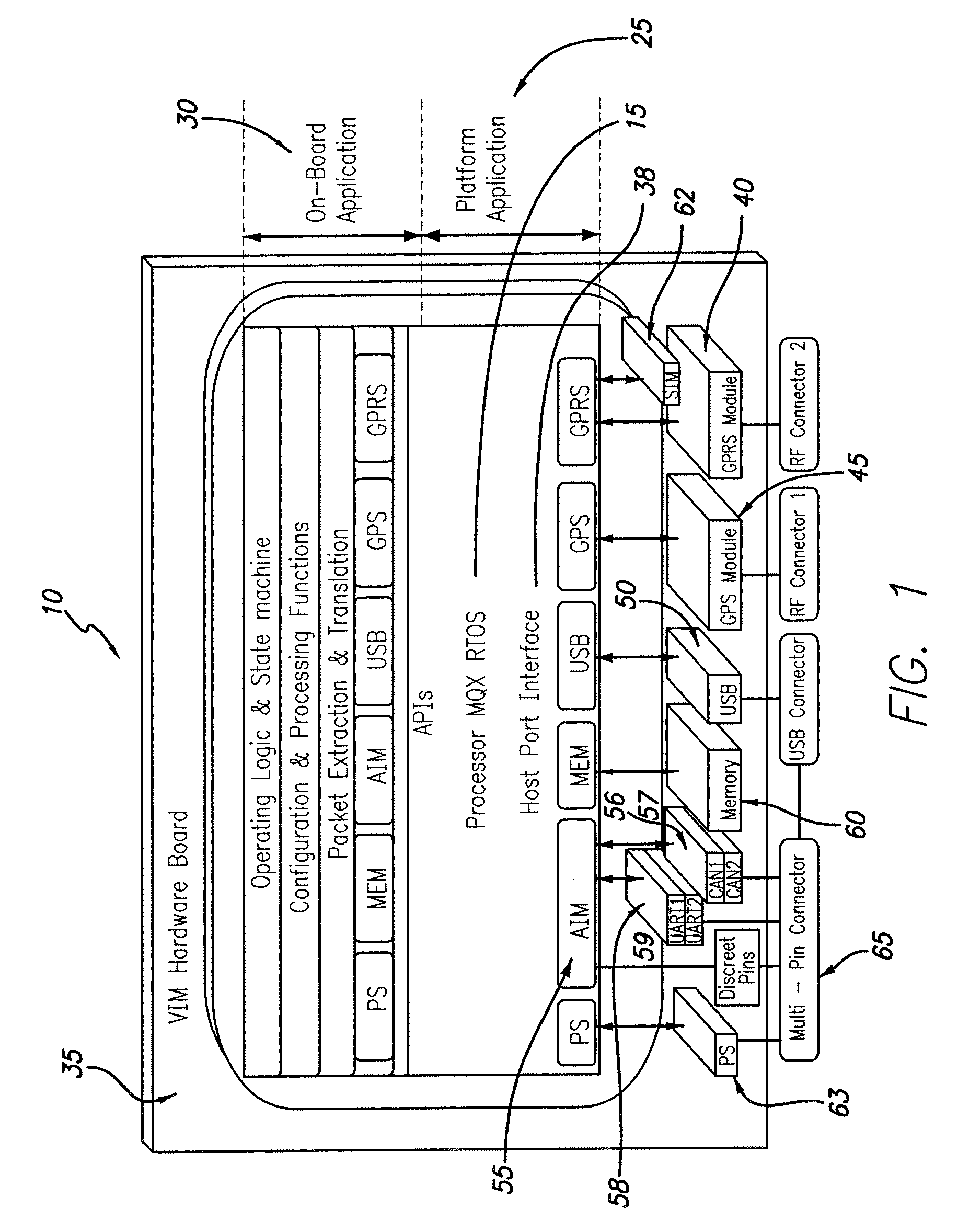 patent us7818098 system and method for provisioning a vehicle interface module patents