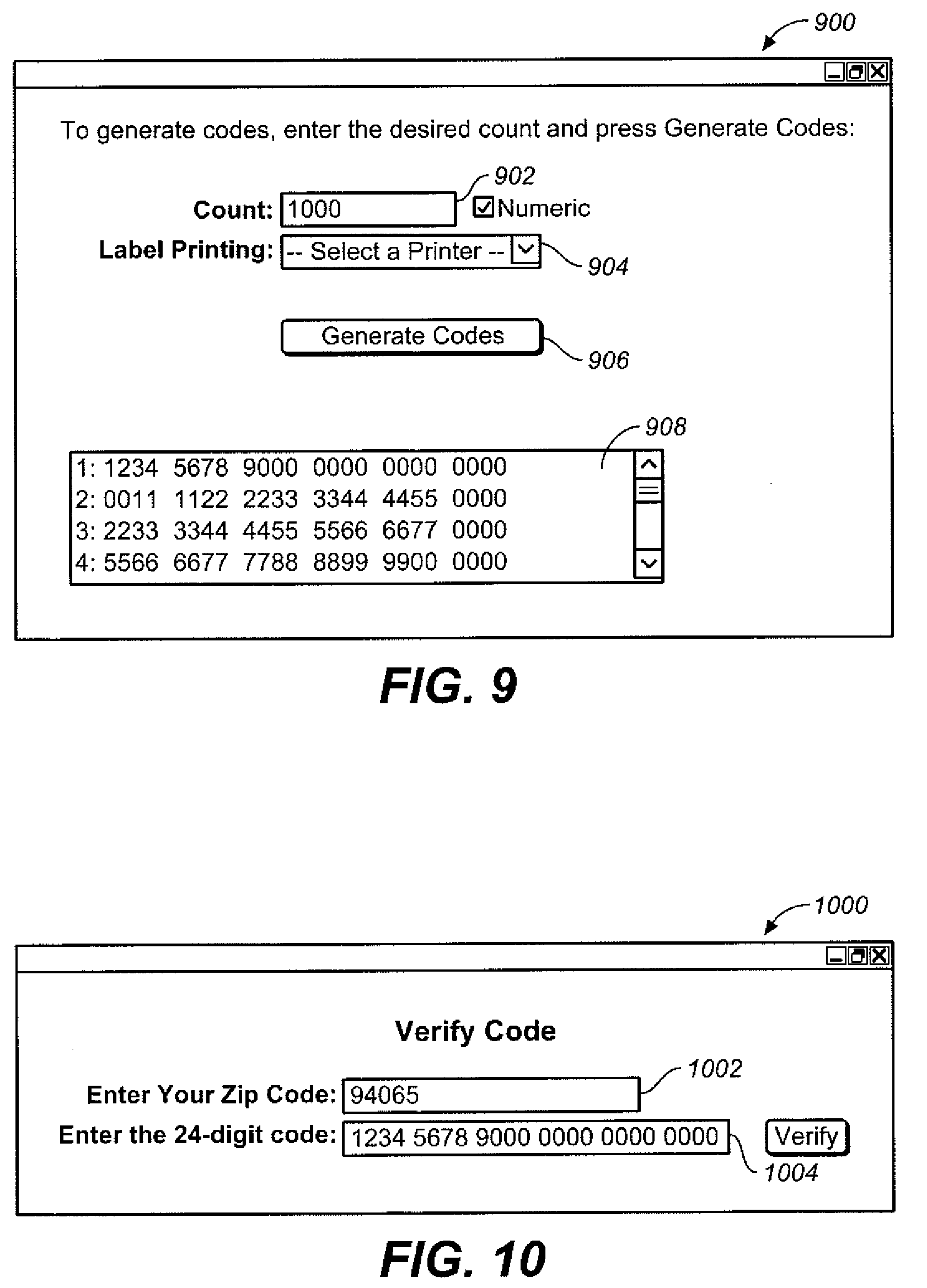Patent US System And Method Of Code Generation And - Us zip code alphanumeric