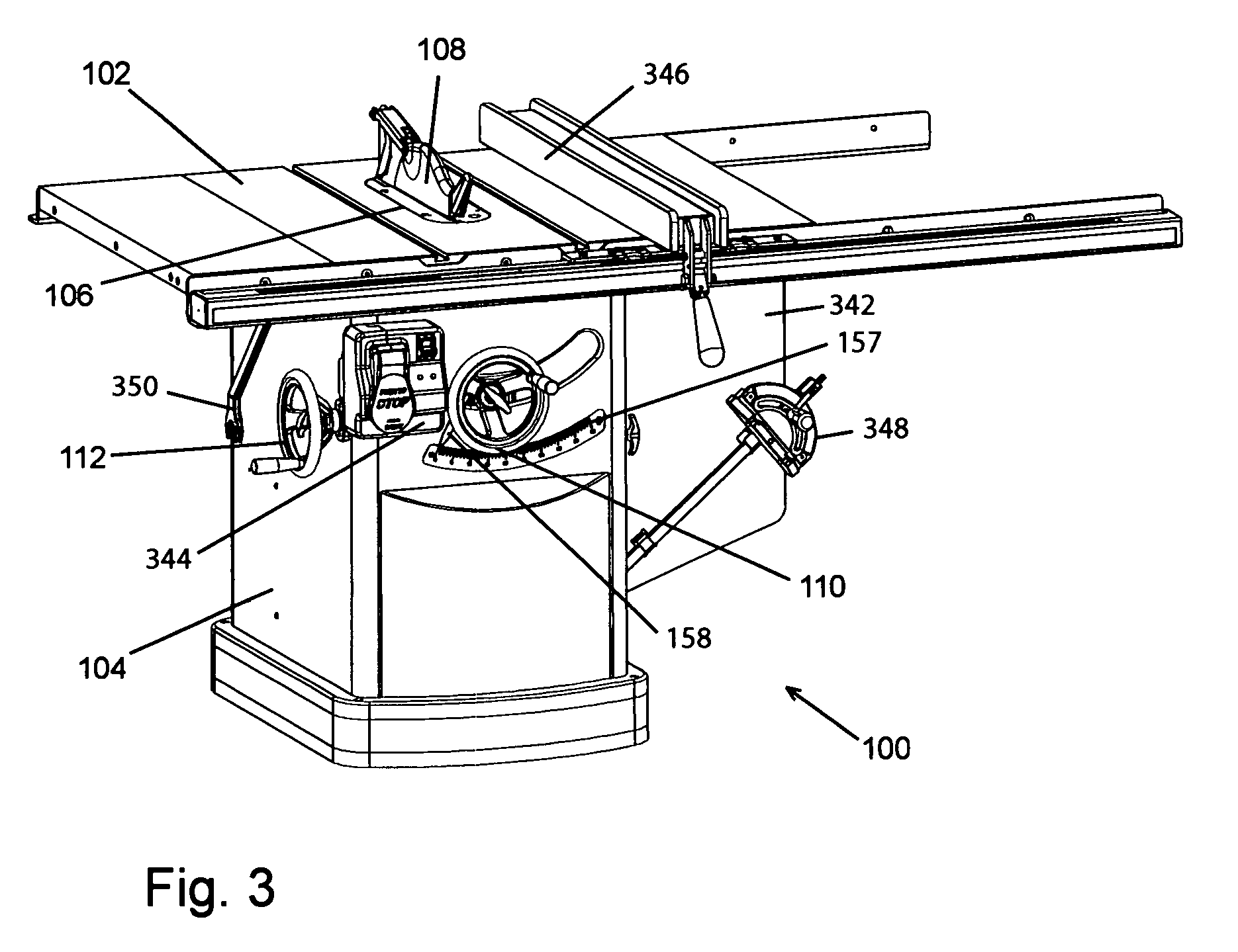Patent US Elevation mechanism for table saws Google Patents