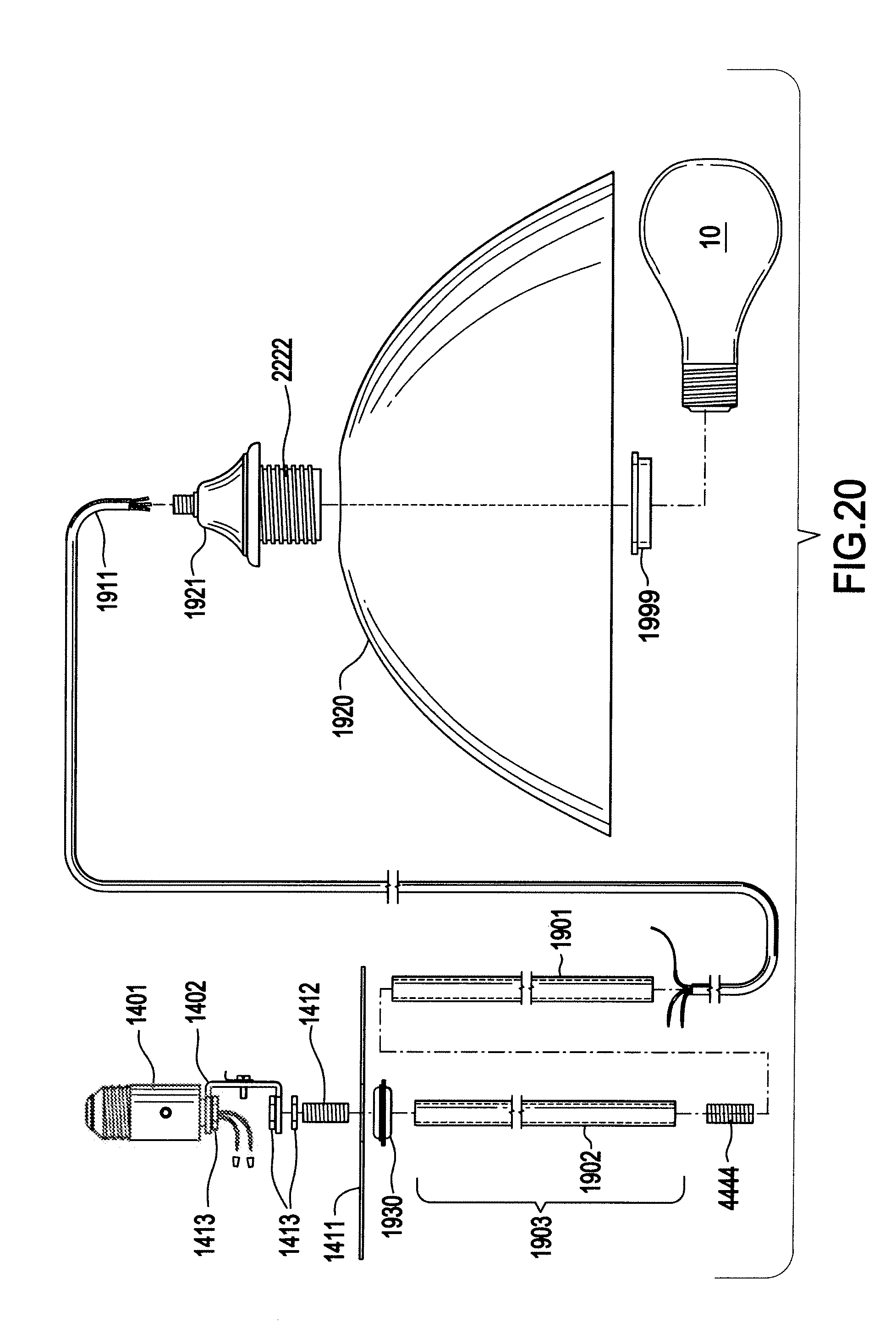 Recessed Lighting Extensions : Patent us recessed light extension socket