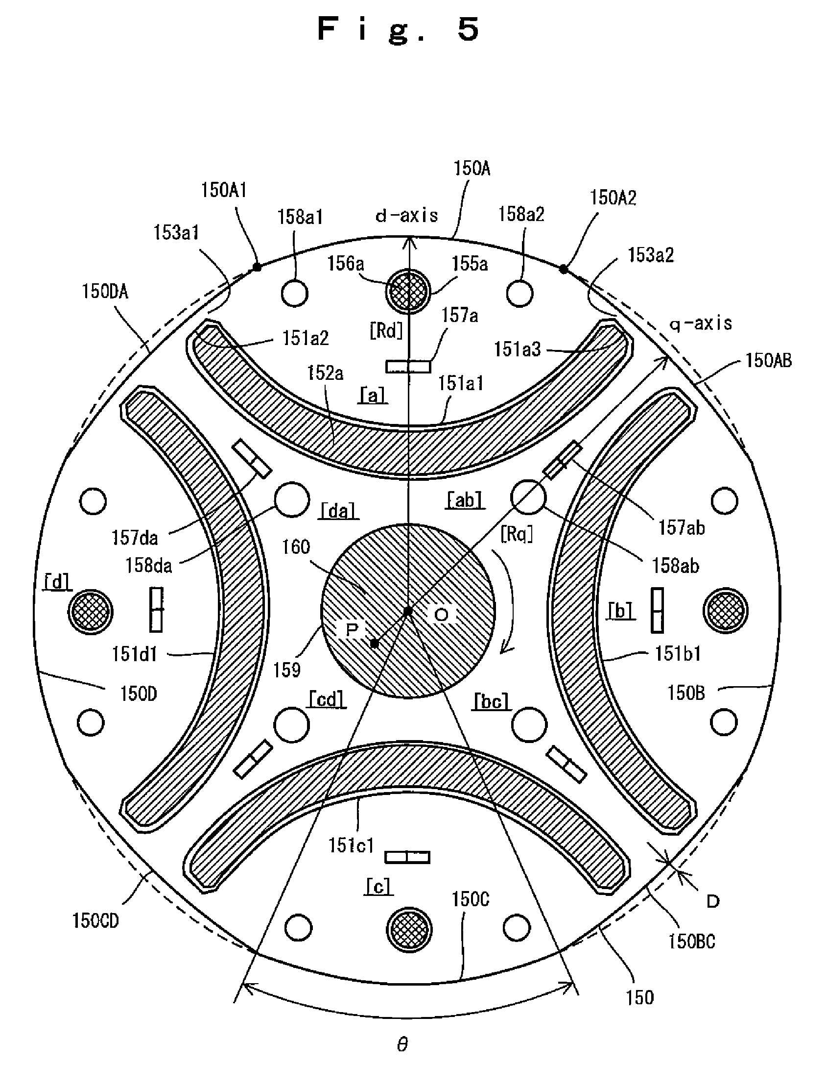 Patent Us7843101 Interior Permanent Magnet Electric Motor Including A Rotor Having