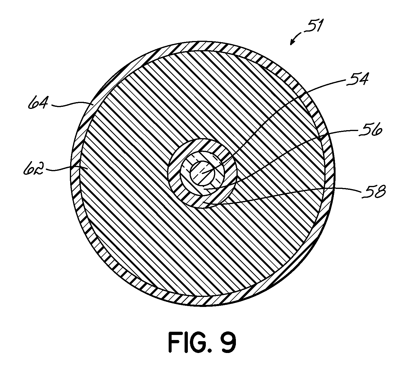 US07848604 20101207 D00006 wire capacity of conduit 9 on wire capacity of conduit